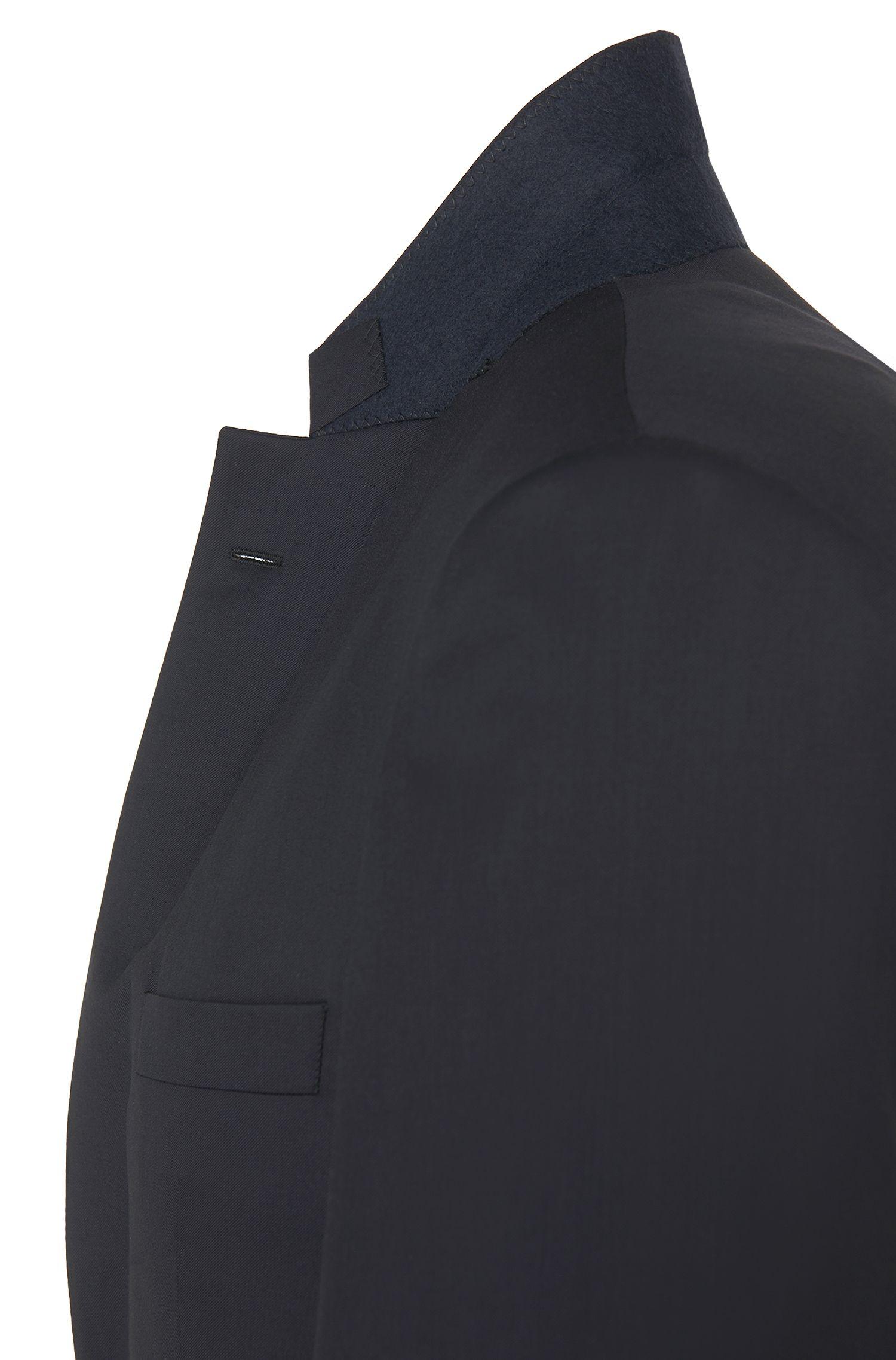 Veste de costume Slim Fit Tailored en pure laine vierge: «T-Harvers2»