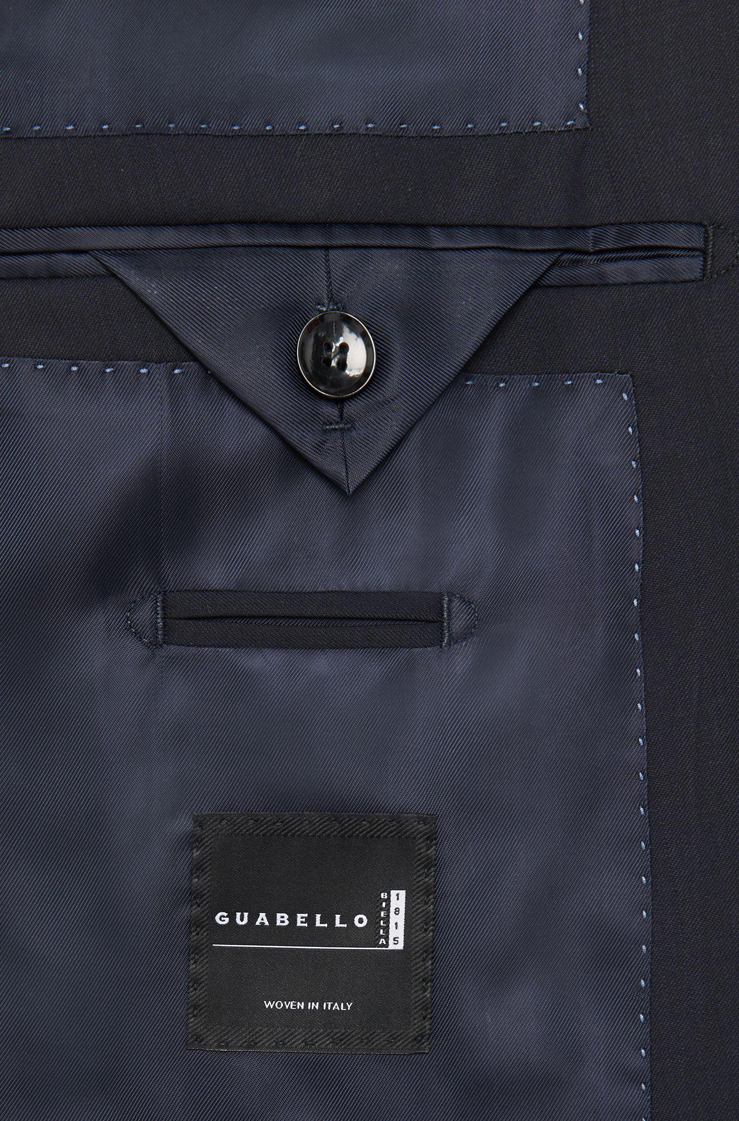 Slim-fit colbert van zuivere scheerwol uit de Tailored-collectie: 'T-Harvers2'