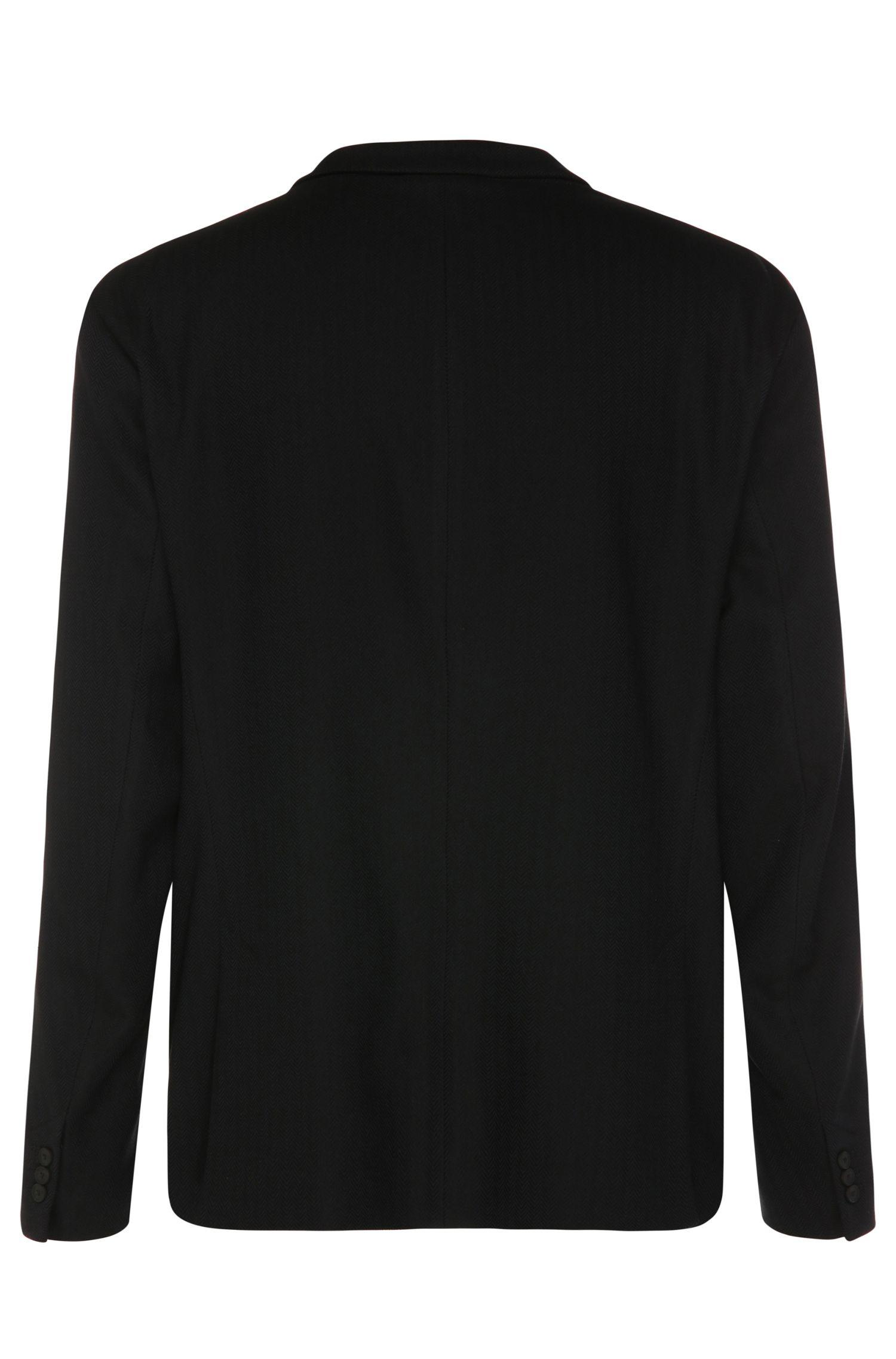 Veste de costume Regular Fit en mélange de matières extensible avec de la viscose: «B-Adoro 1»