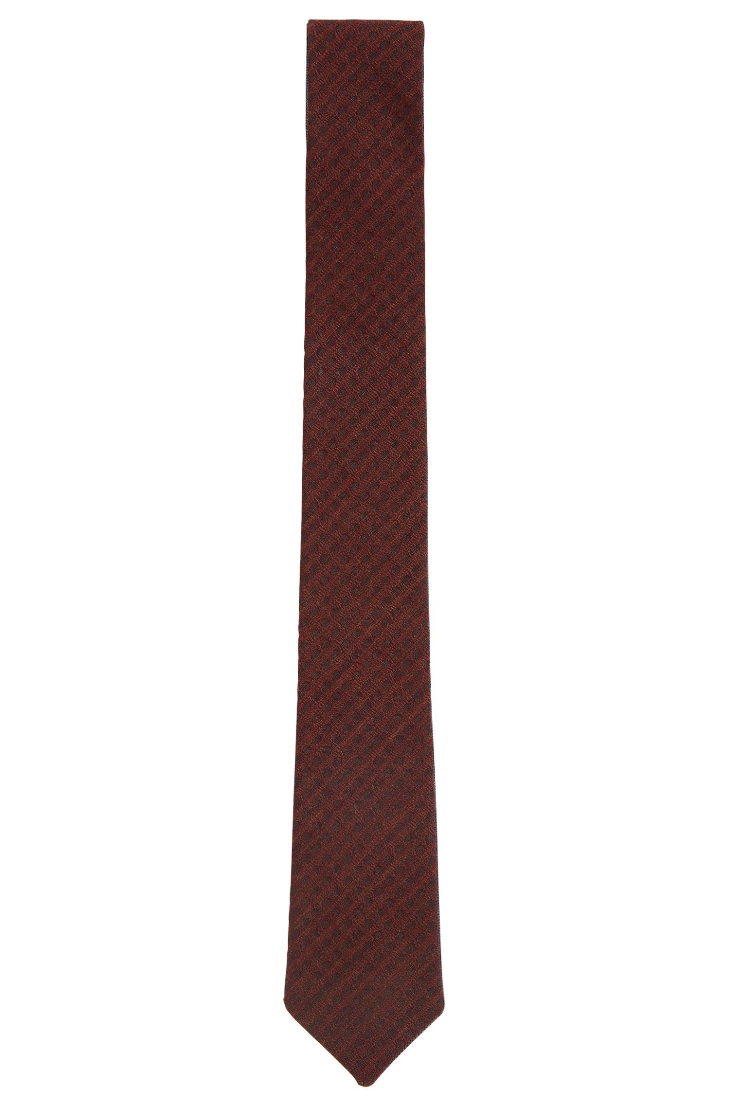Reversible tie in wool blend with silk: 'Tie cm 5.5 double'