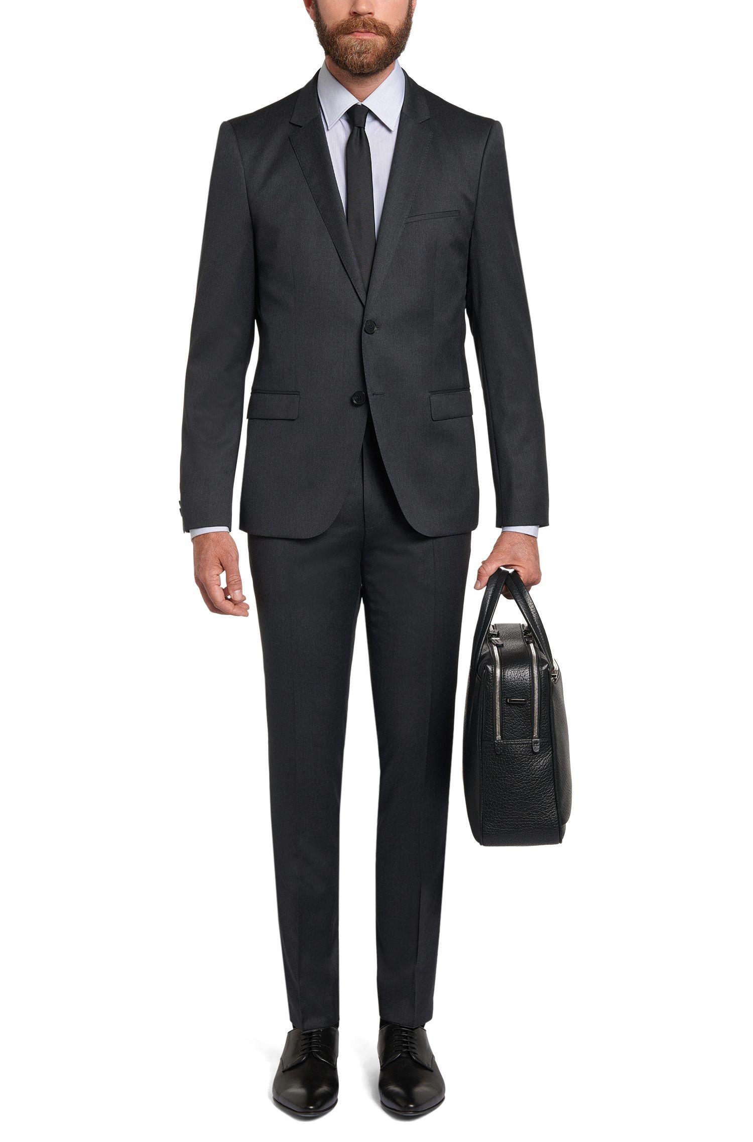 Chemise rayée Regular Fit en coton: «C-Enzo»