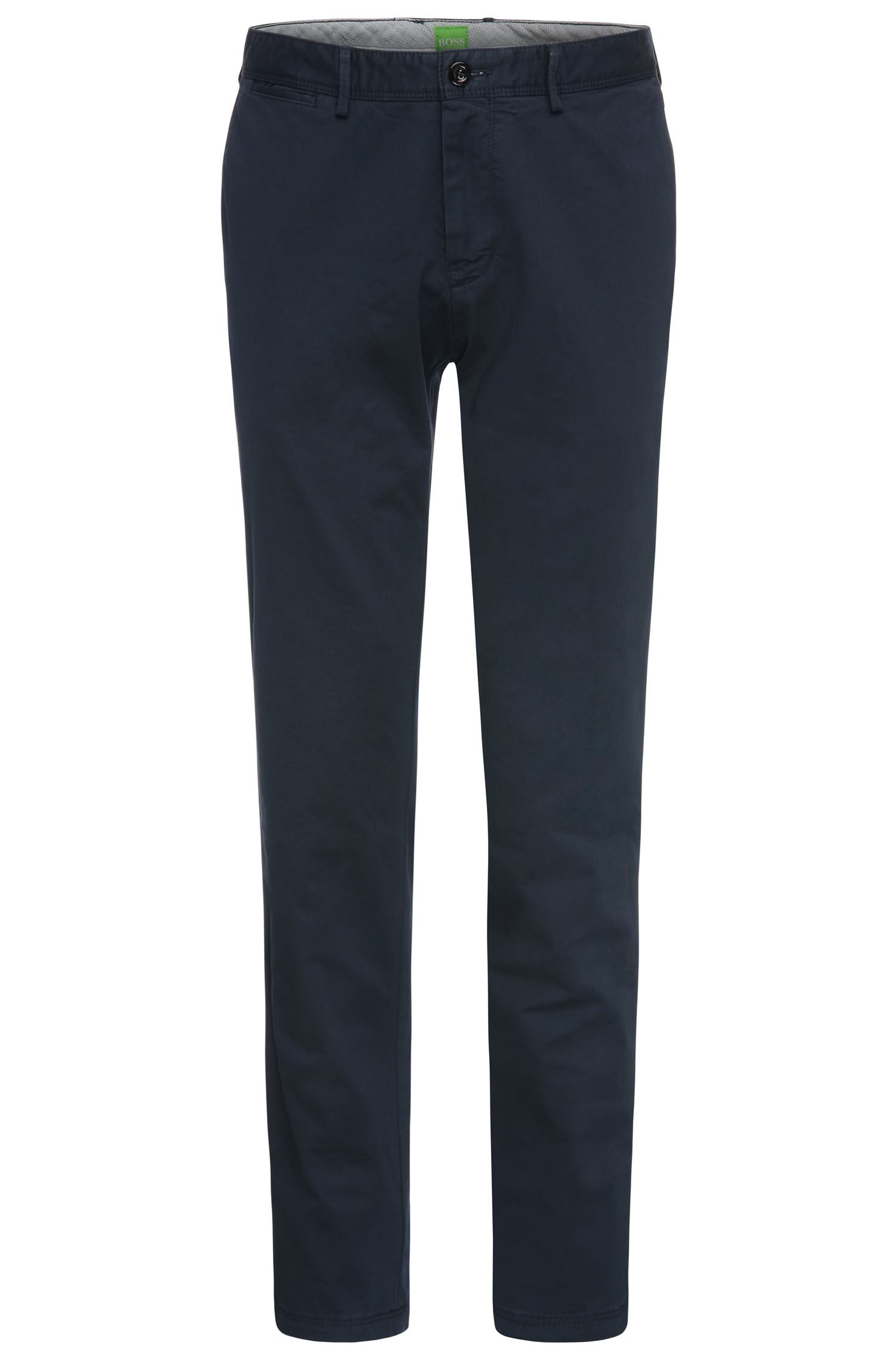 Regular-Fit Chino aus Stretch-Baumwolle: ´B-Crig1-3-W`