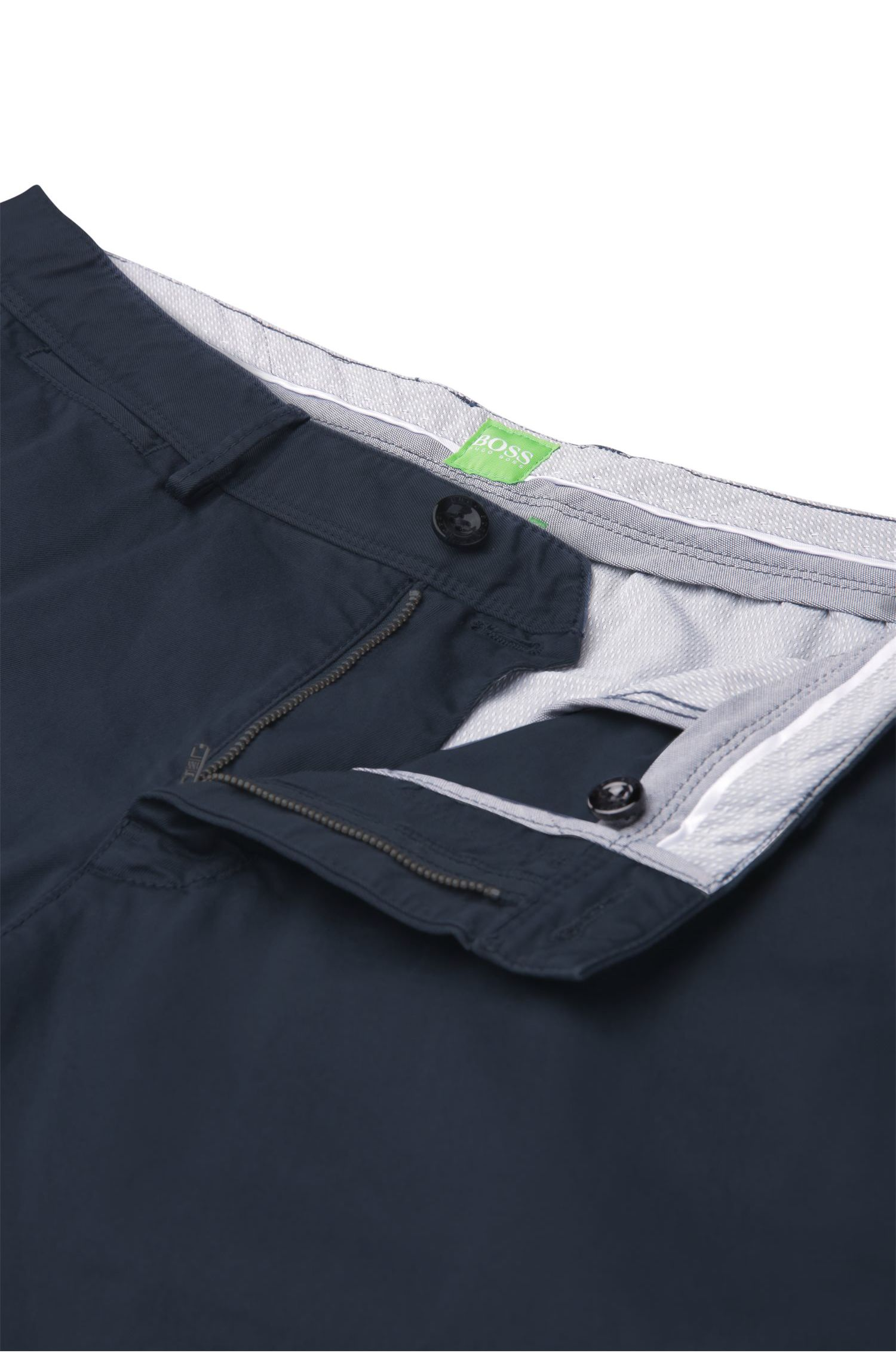 Chino regular Fit en coton extensible : « B-Crig1-3-W »