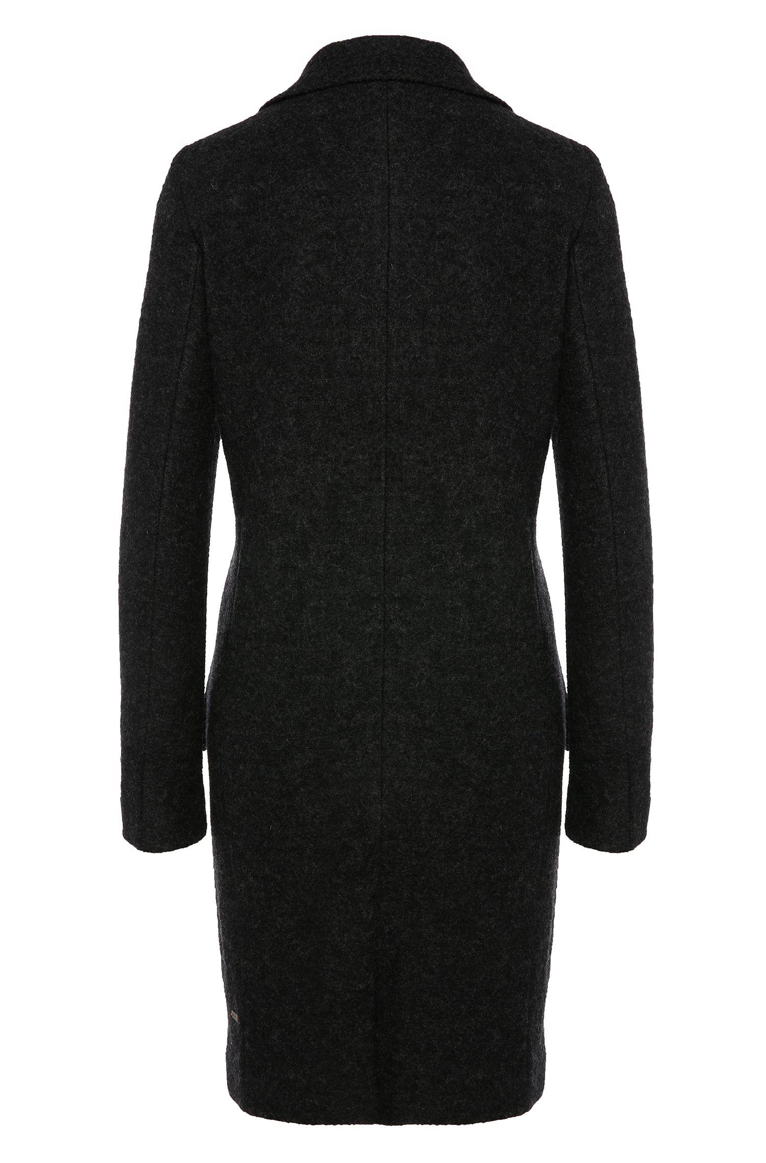 Manteau chiné en laine vierge: «Onati»