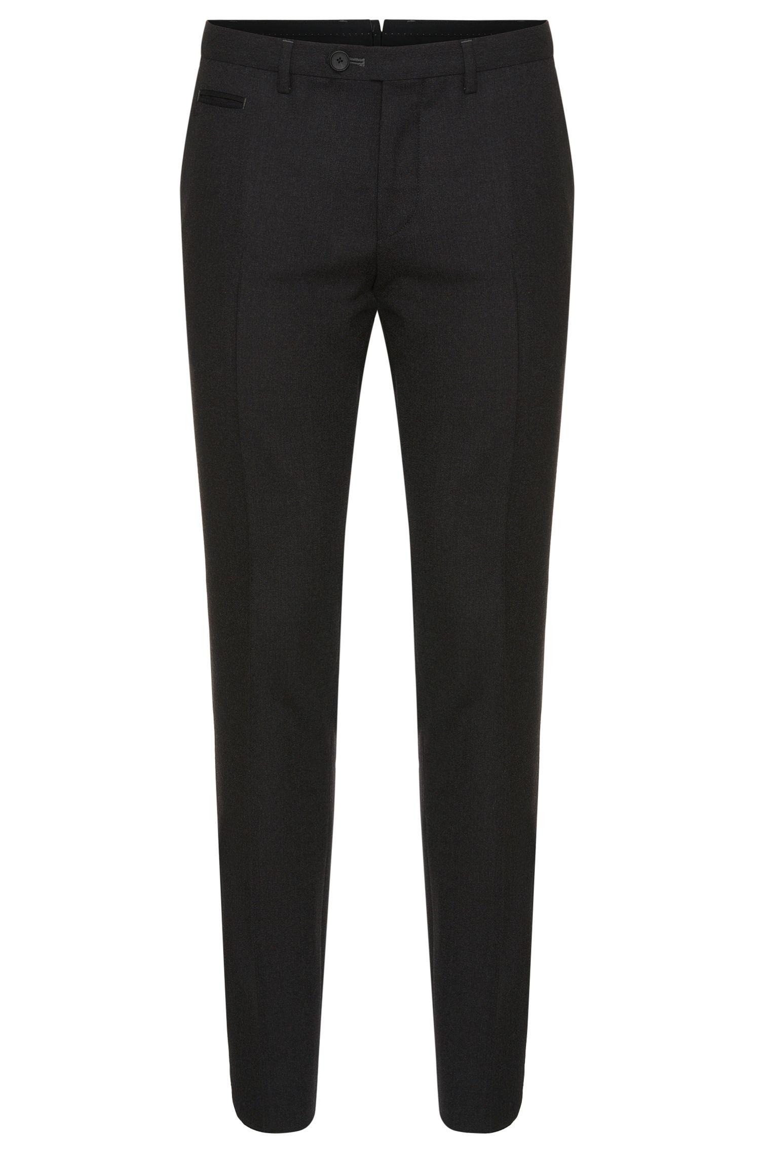 Pantalon Extra Slim Fit en laine vierge: «Wilhelm3»