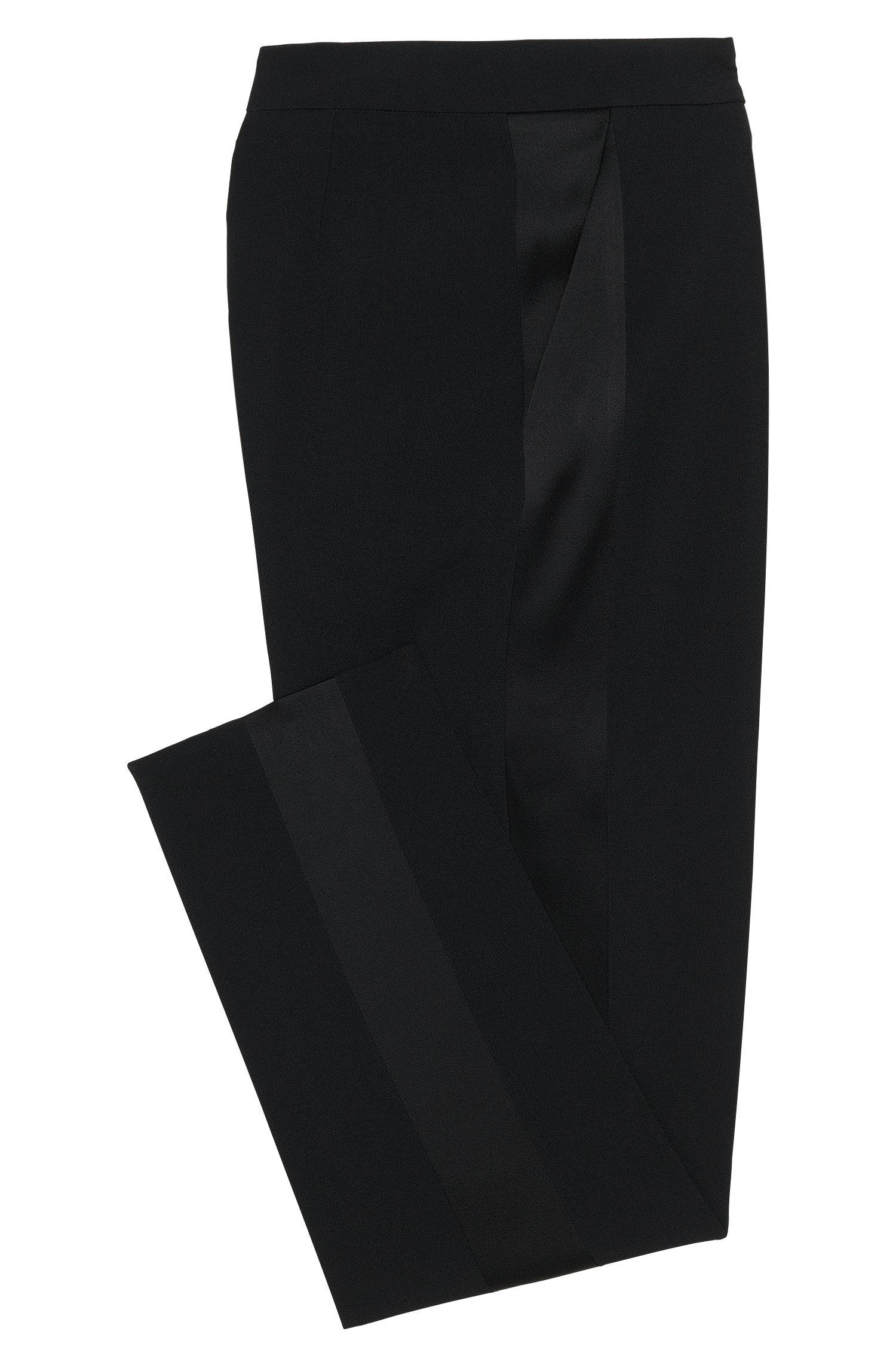 Regular-Fit Hose mit Galon-Streifen: 'Tixida'