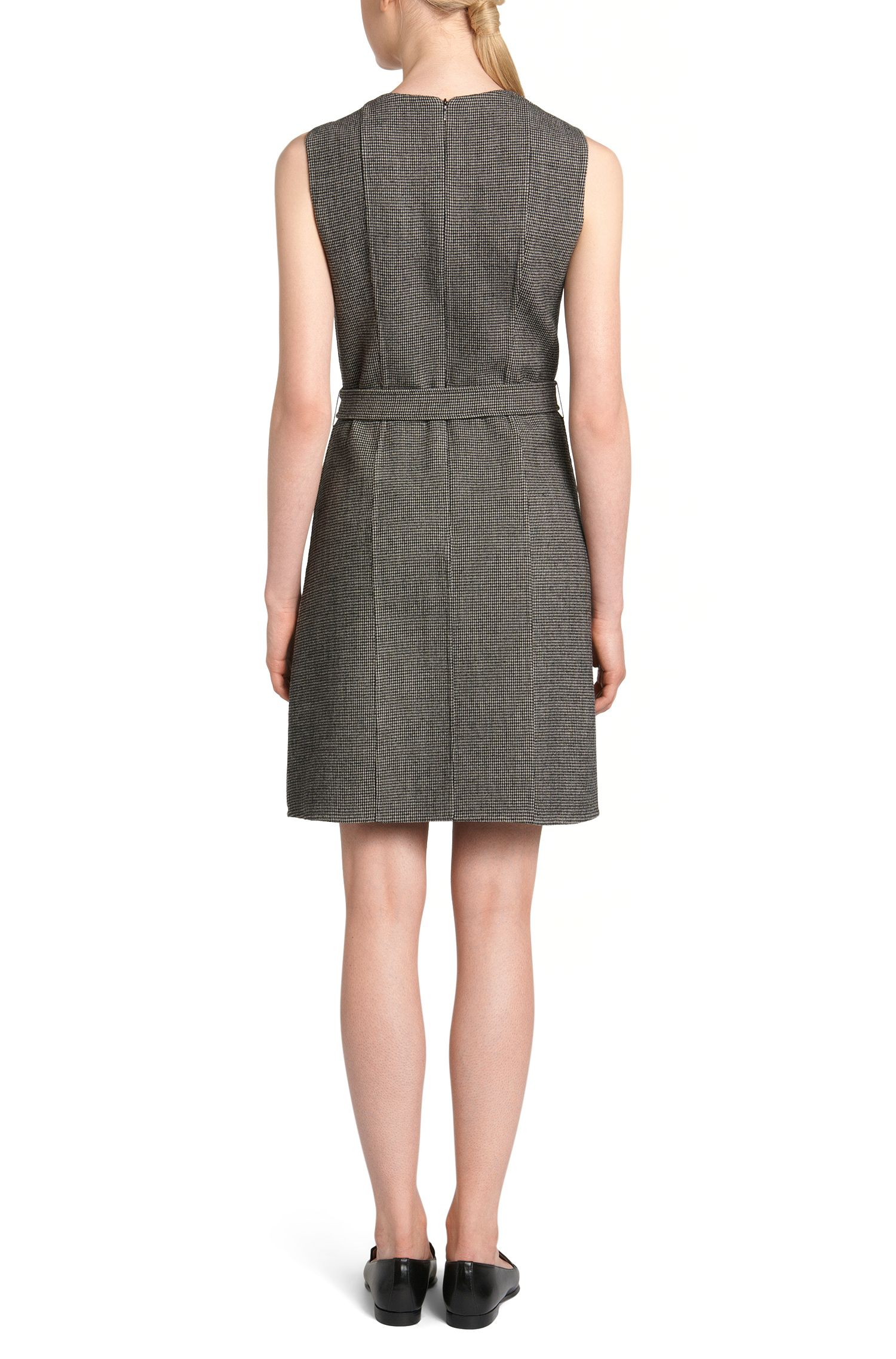 Fein gemustertes Kleid aus Woll-Mix: 'Diganira2'