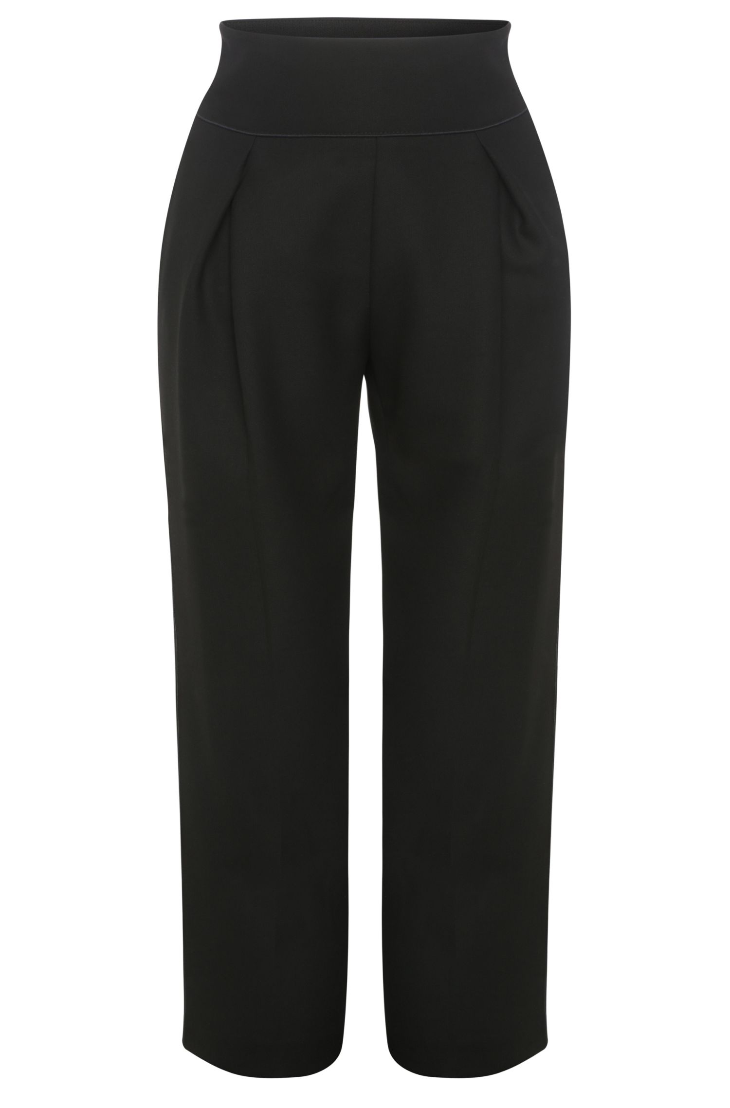 Pantaloni relaxed fit in materiali misti elasticizzati con viscosa: 'Safolky'