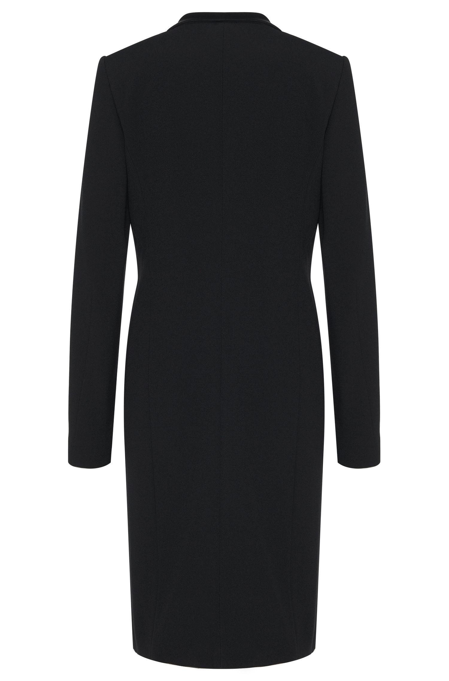 Manteau en mélange de matières à teneur en viscose, de style smoking: «Cafina»