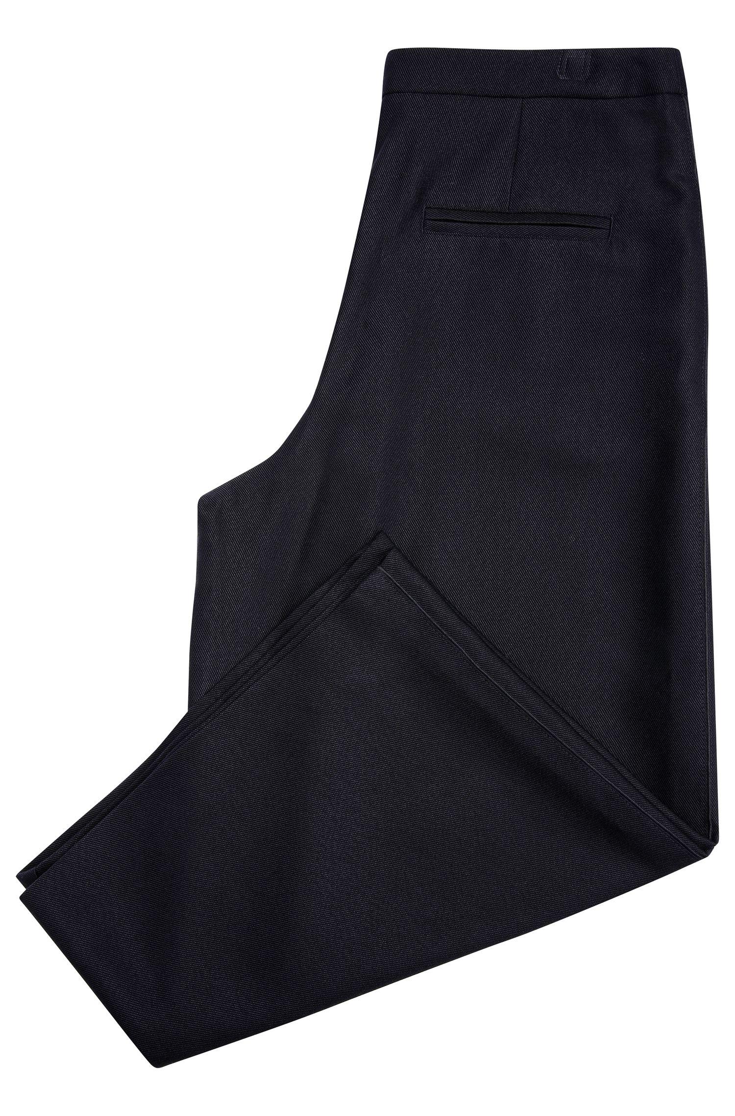 Jupe-culotte en viscose structurée mélangée à de la laine: «Sacrepa»