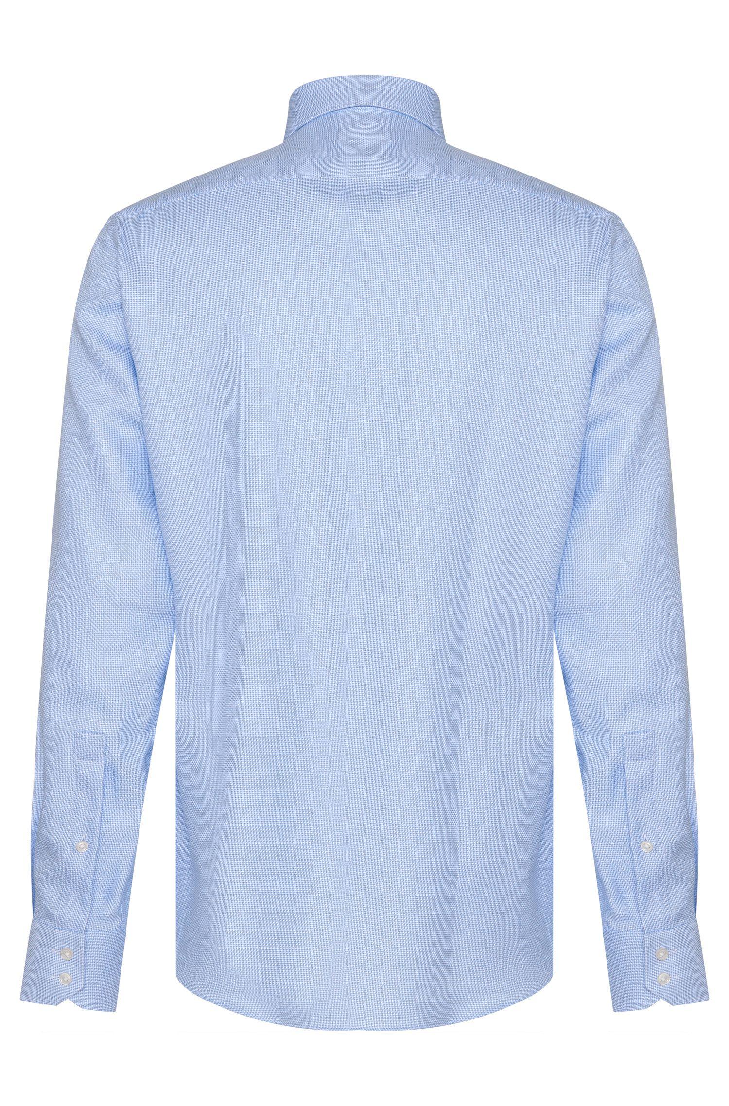Regular-Fit Hemd aus Baumwolle mit Allover-Muster: 'C-Enzo'