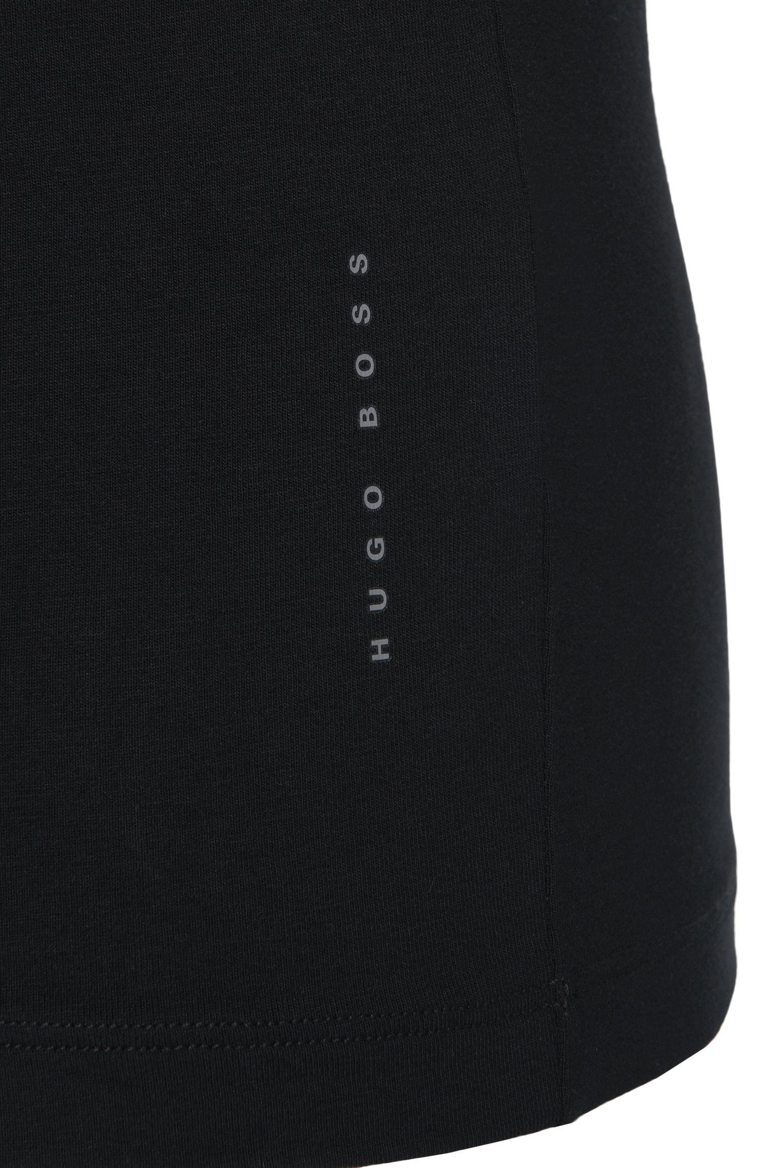 Set van twee slim-fit T-shirts van stretchkatoen: 'T-Shirt RN 2P CO/EL'