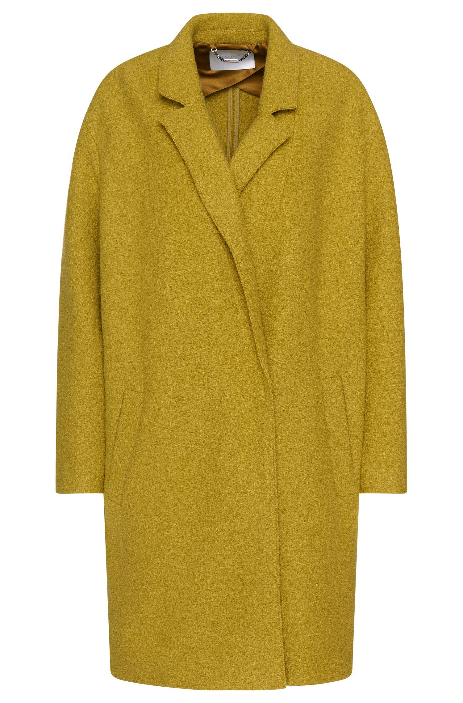 Cappotto oversize in lana: 'Ciba'