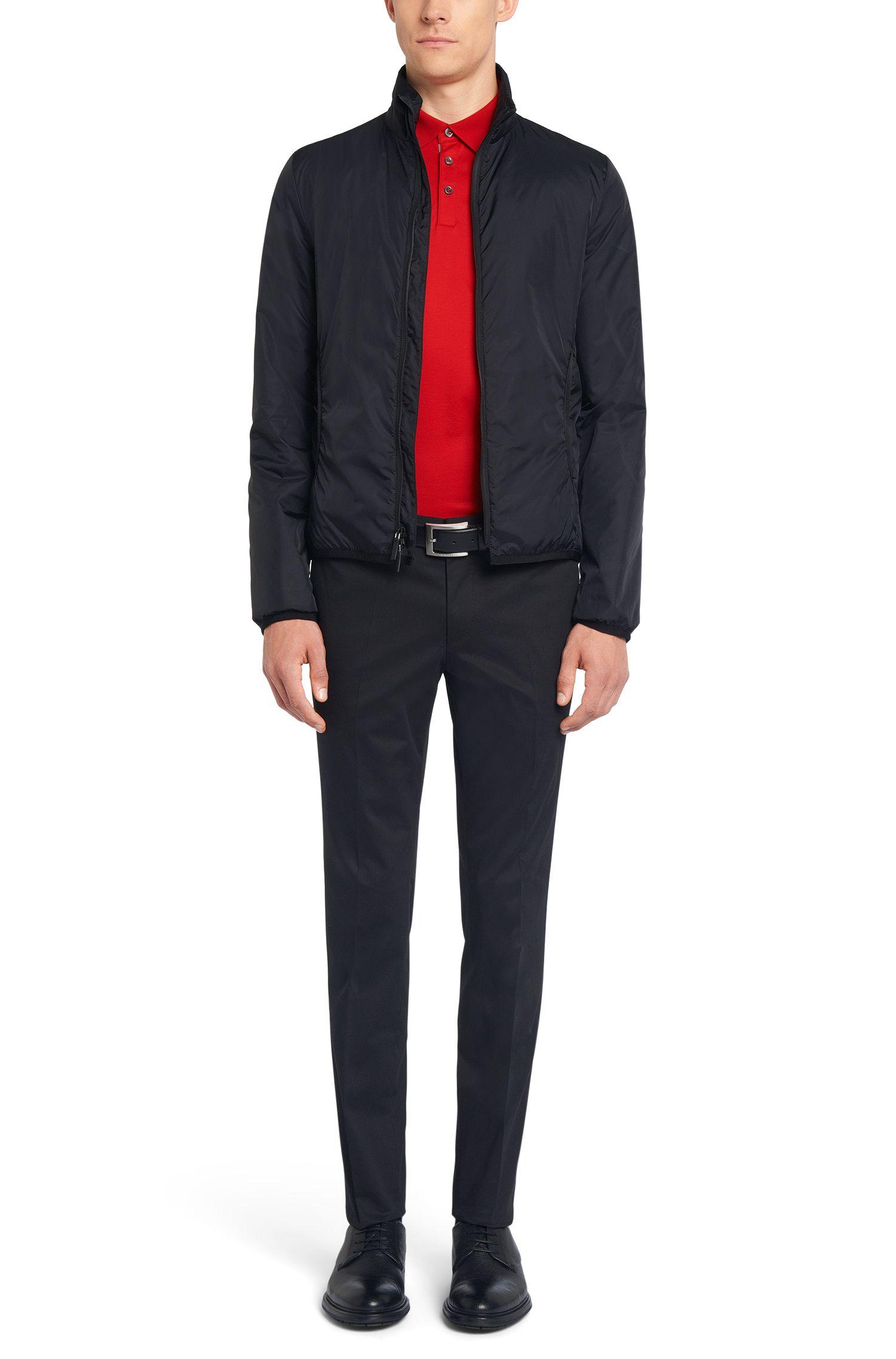 Polo Regular Fit Tailored en coton mercerisé: «T-Perry 09»