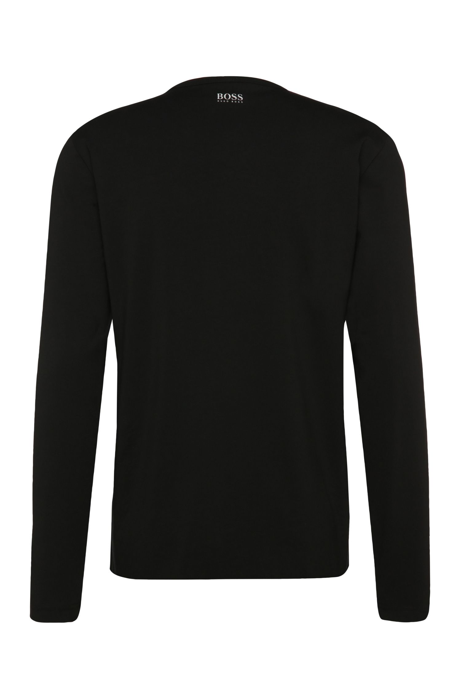 T-shirt à manches longues Regular Fit en coton extensible: «Togn1»