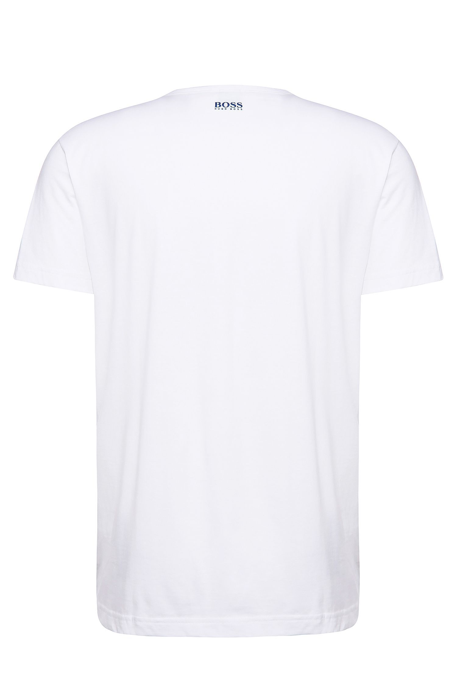 Regular-Fit Baumwollshirt mit Frontprint: ´Tee 5`