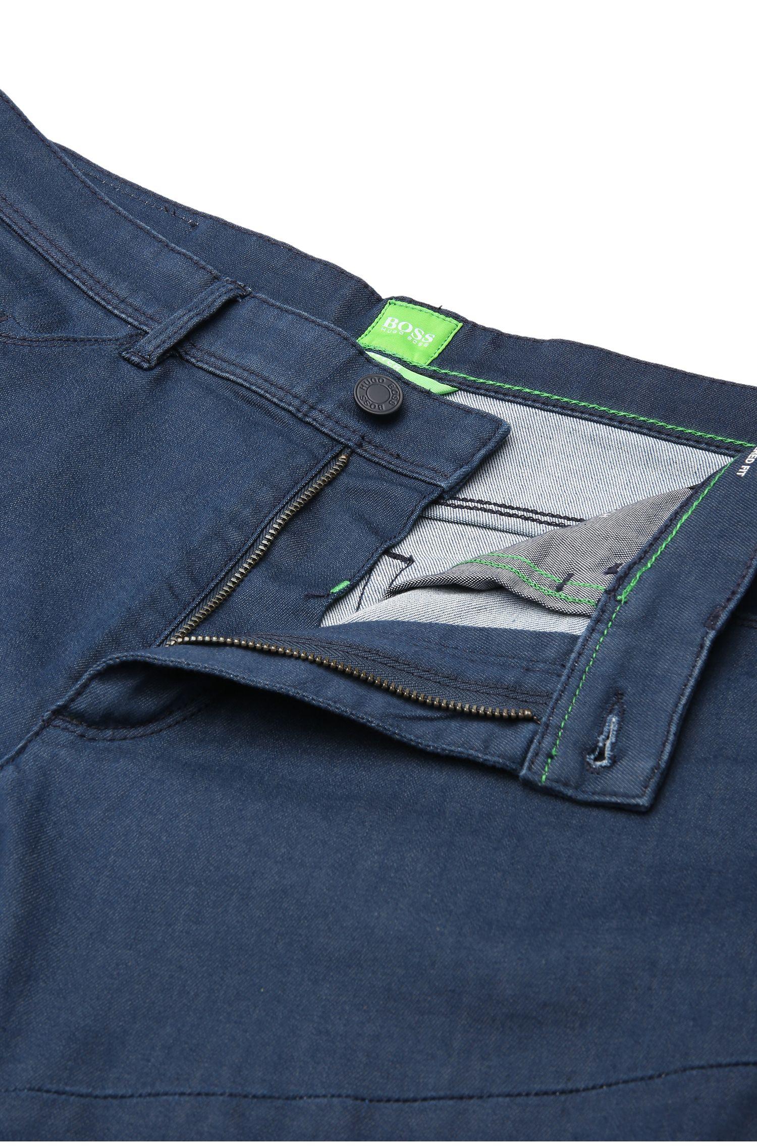 Tapered-Fit Jeans aus elastischer Baumwolle: ´Danyel`