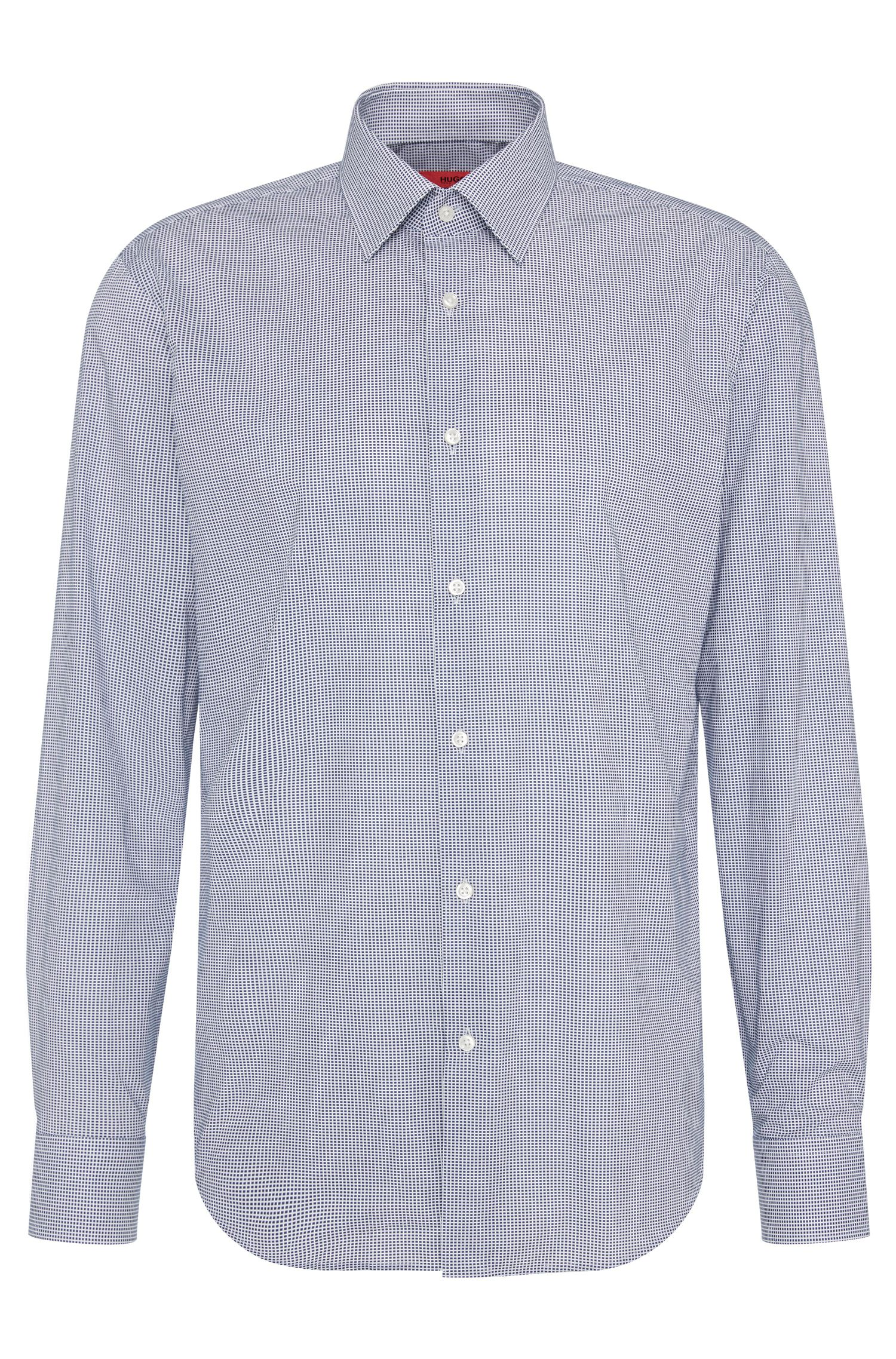 Camicia regular fit a quadri in cotone: 'C-Enzo'
