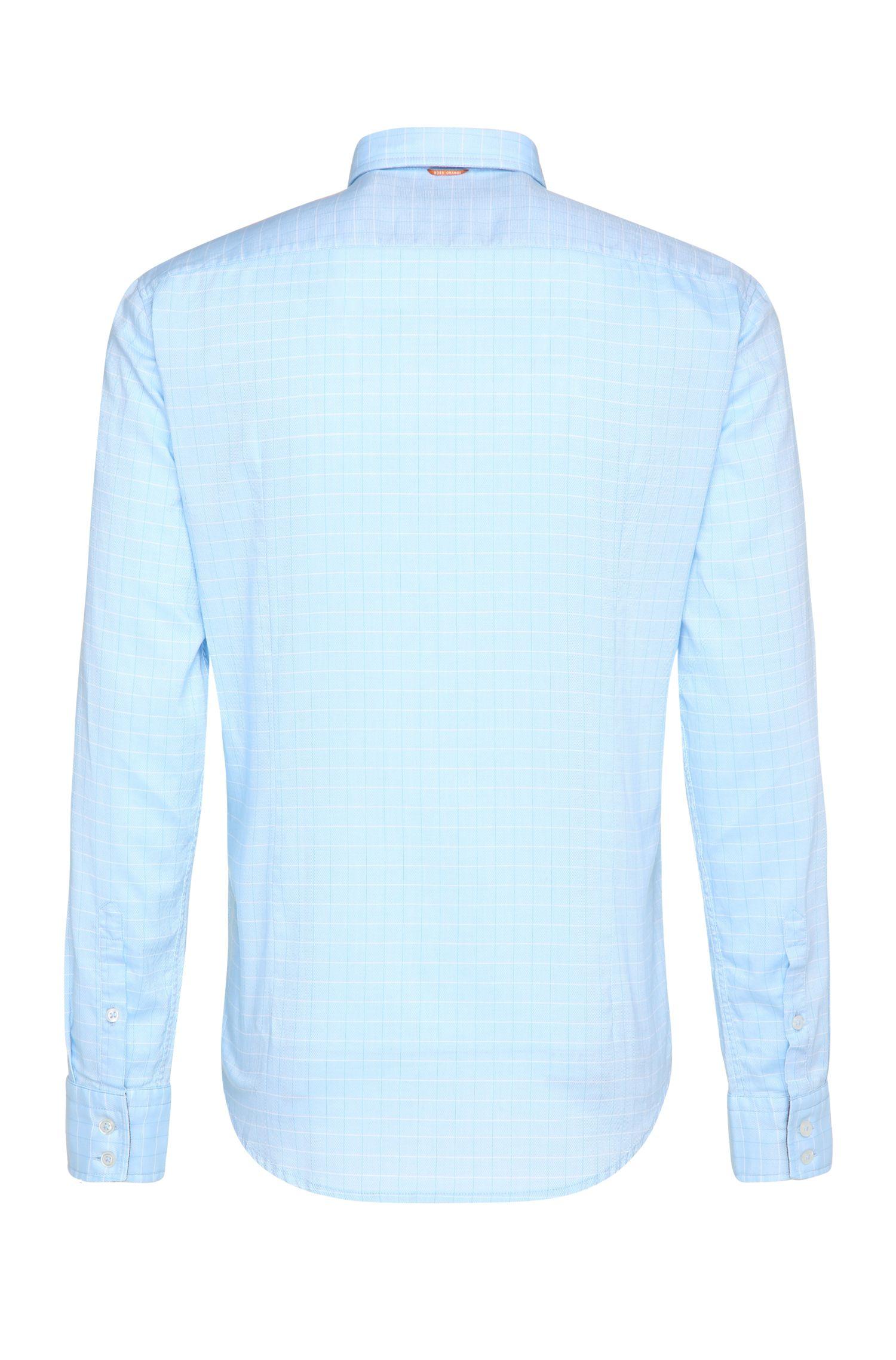 Chemise en coton Regular Fit à carreaux: «CieloebuE_1»