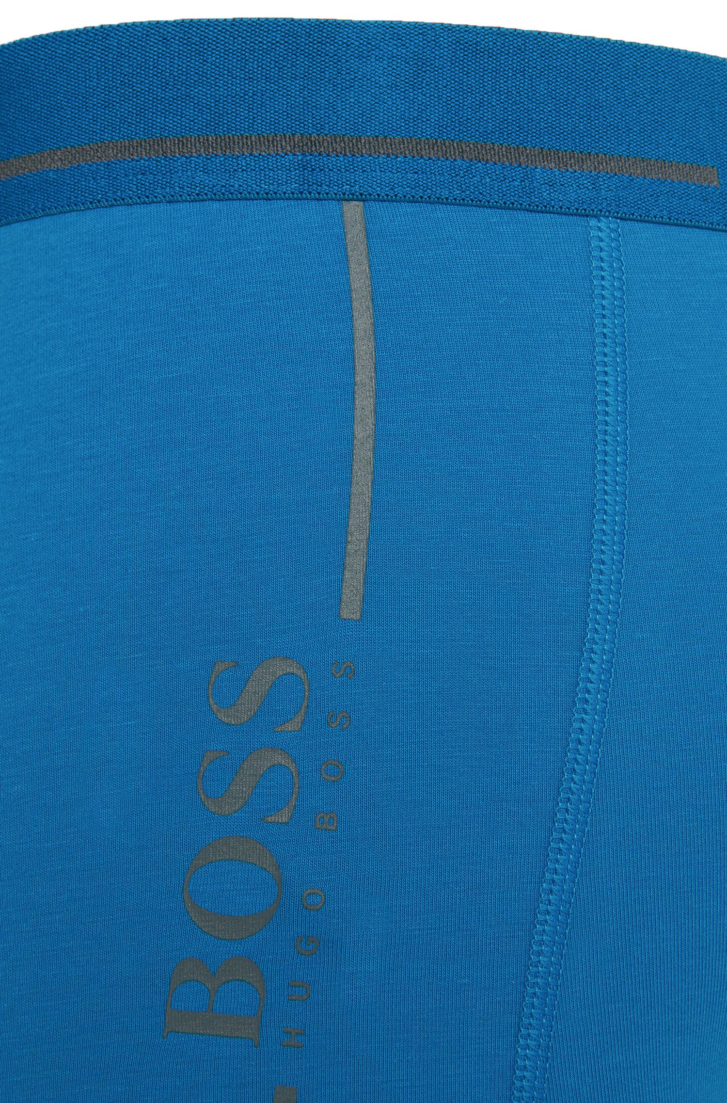 Effen boxershort van stretchkatoen: 'Trunk 24 Logo'