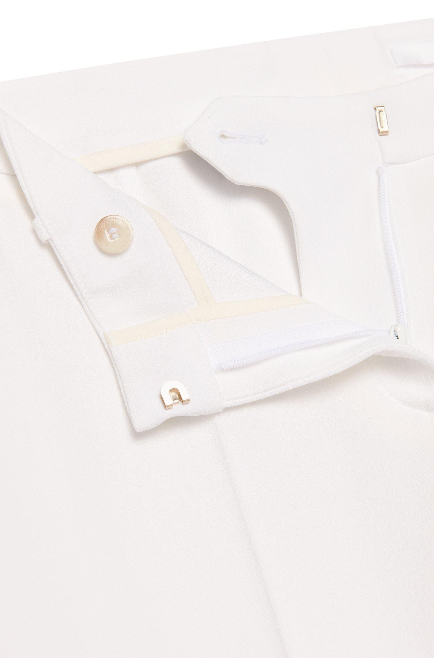 Slim-Fit Hose in Cropped-Länge: 'Tiluna1'