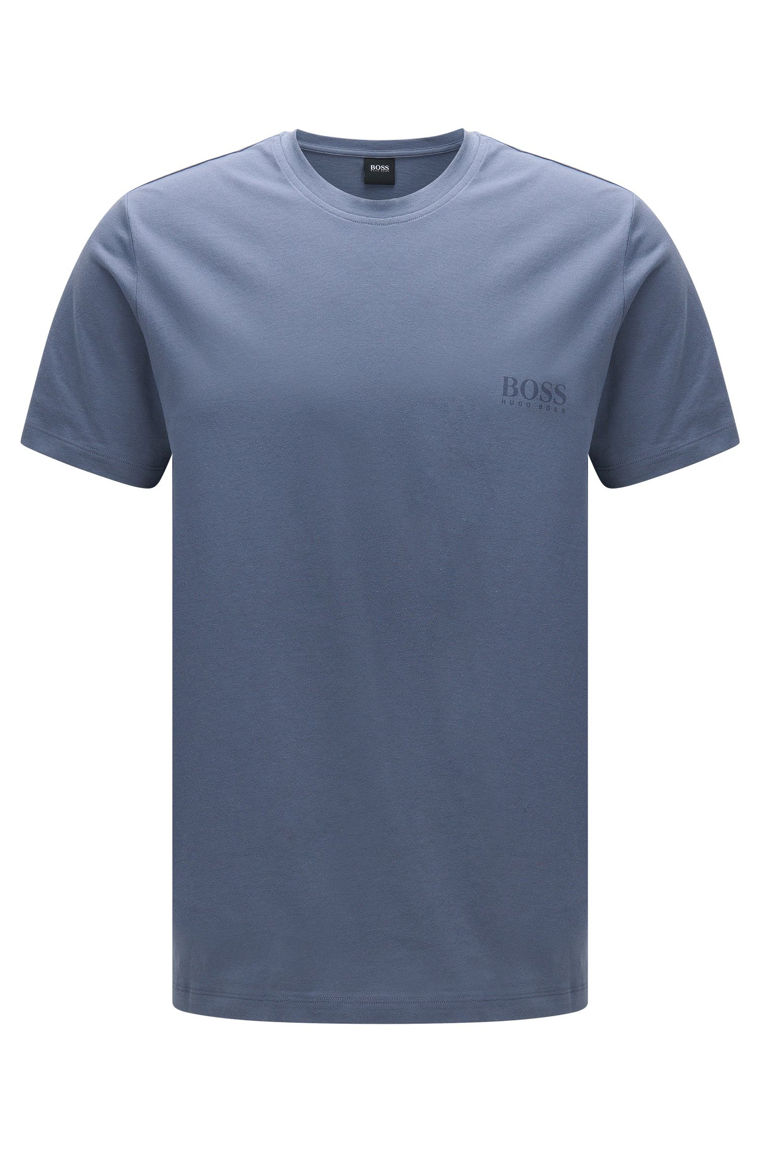 Unifarbenes Regular-Fit T-Shirt aus Baumwolle: 'T-Shirt RN 24'