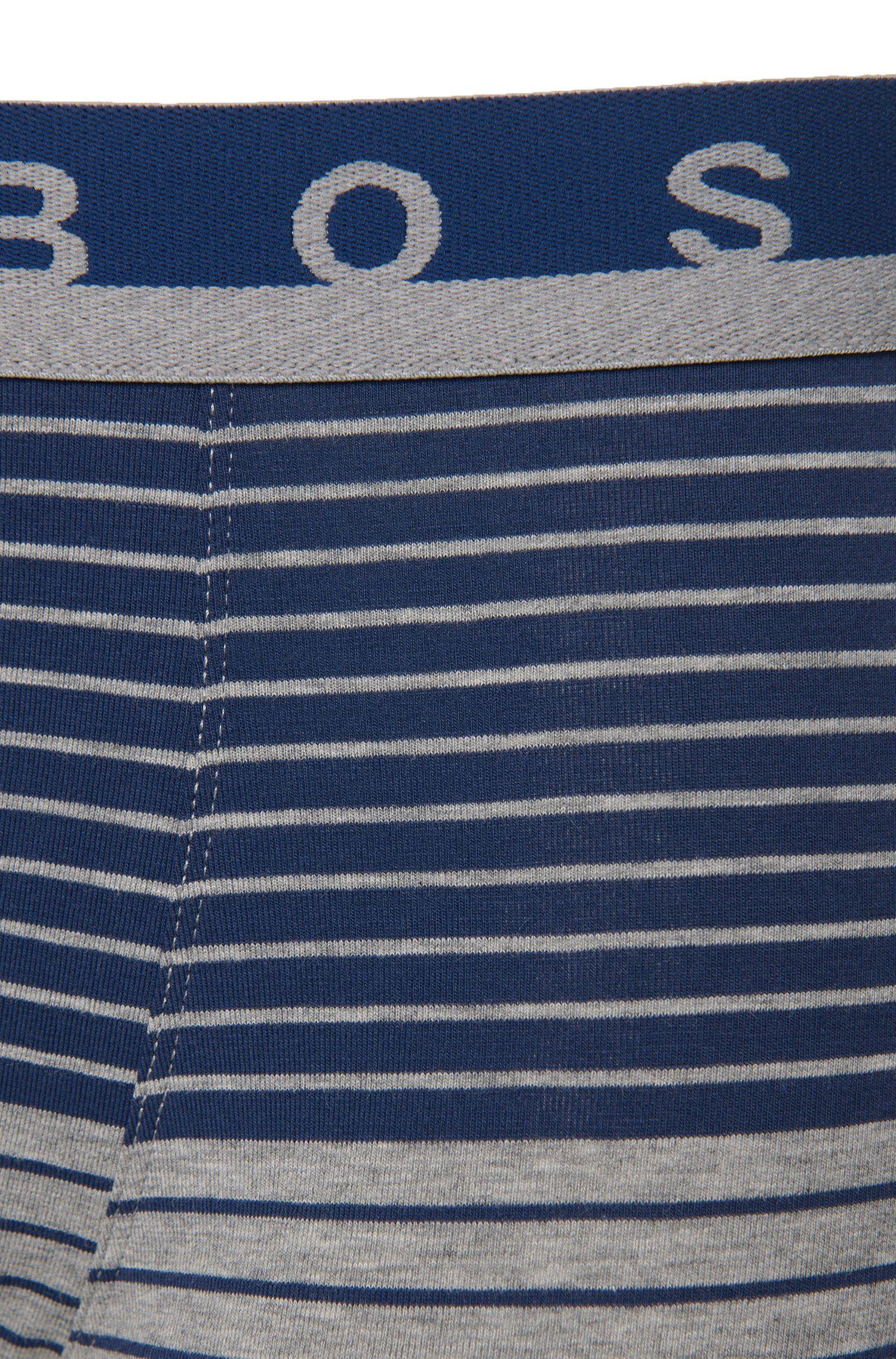 Gestreifte Boxershorts aus Stretch-Baumwolle: 'Trunk Stripe'