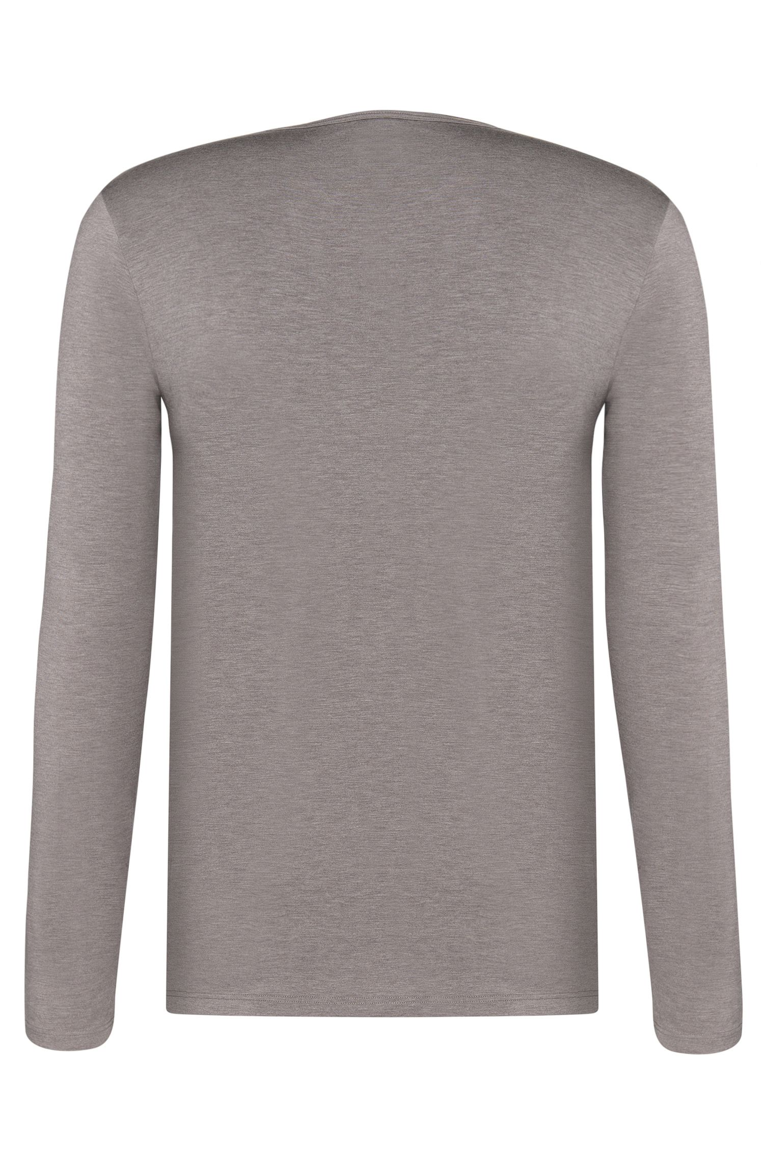 Meliertes Longsleeve mit thermoregulierender Funktion: 'LS-Shirt RN Thermal+'