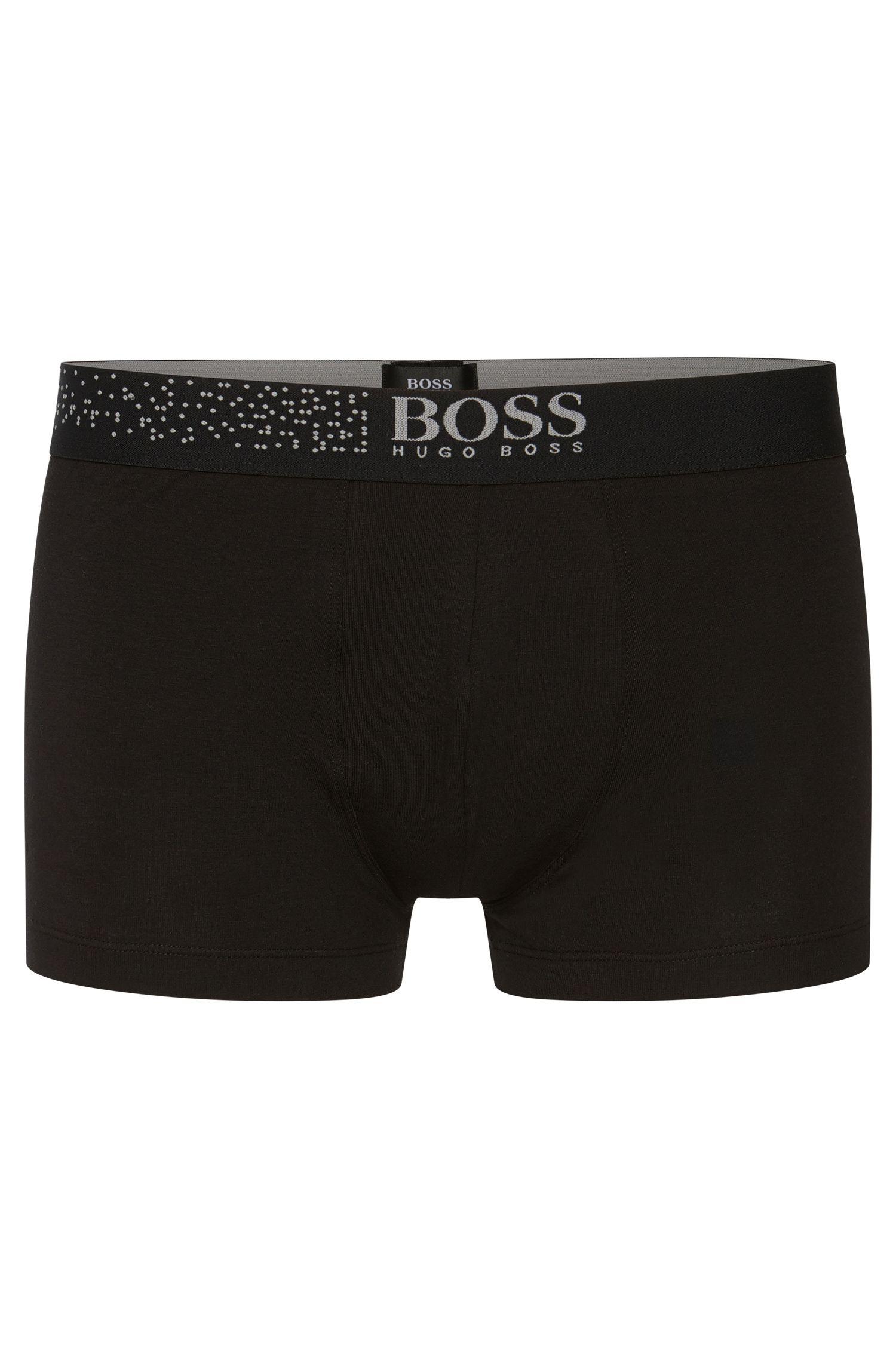 Set aus Boxershorts und Socken aus elastischer Baumwolle: 'Trunk&Soft Gift'