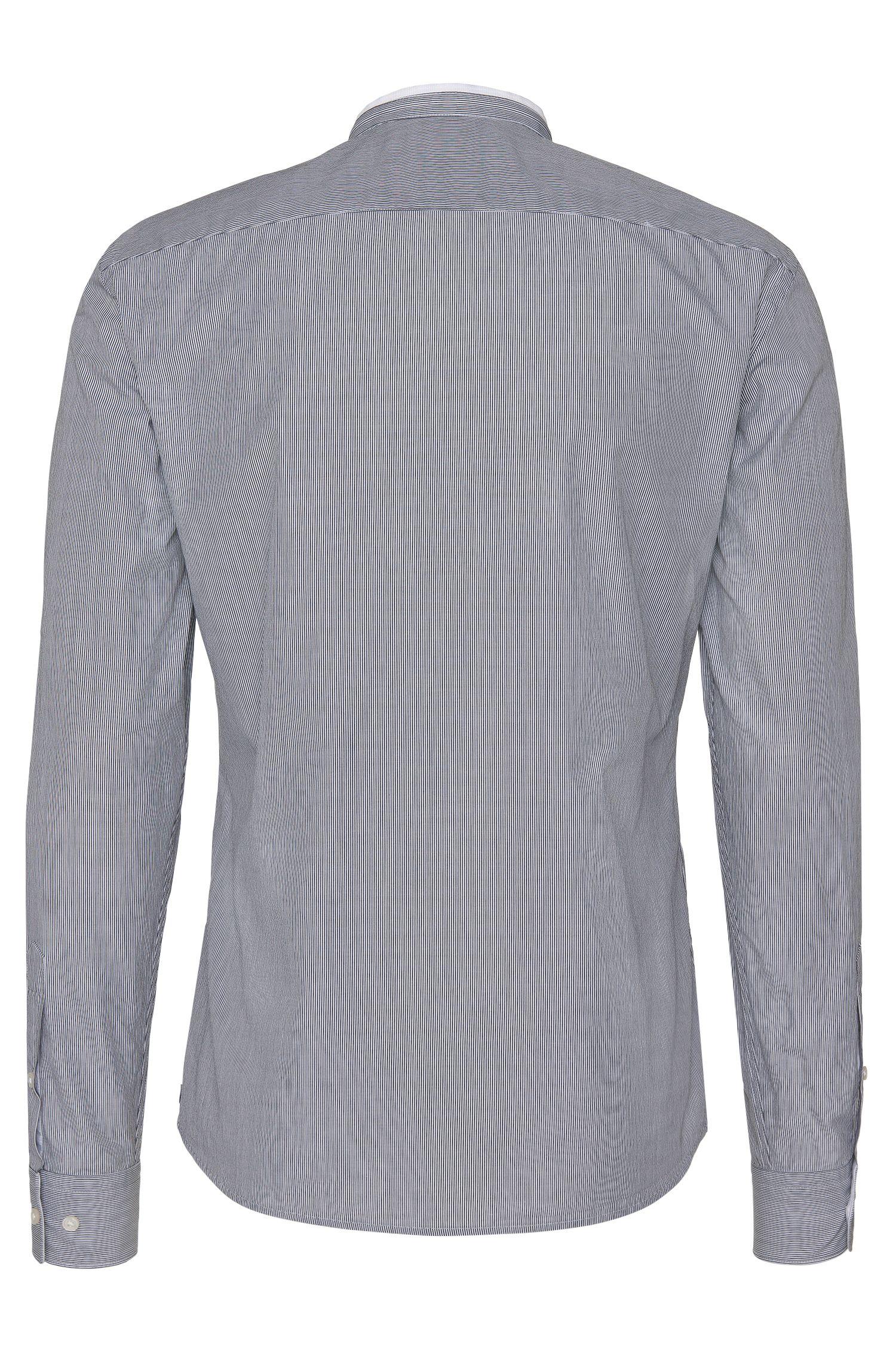Chemise Slim Fit à rayures, en coton: «Rab_37F»
