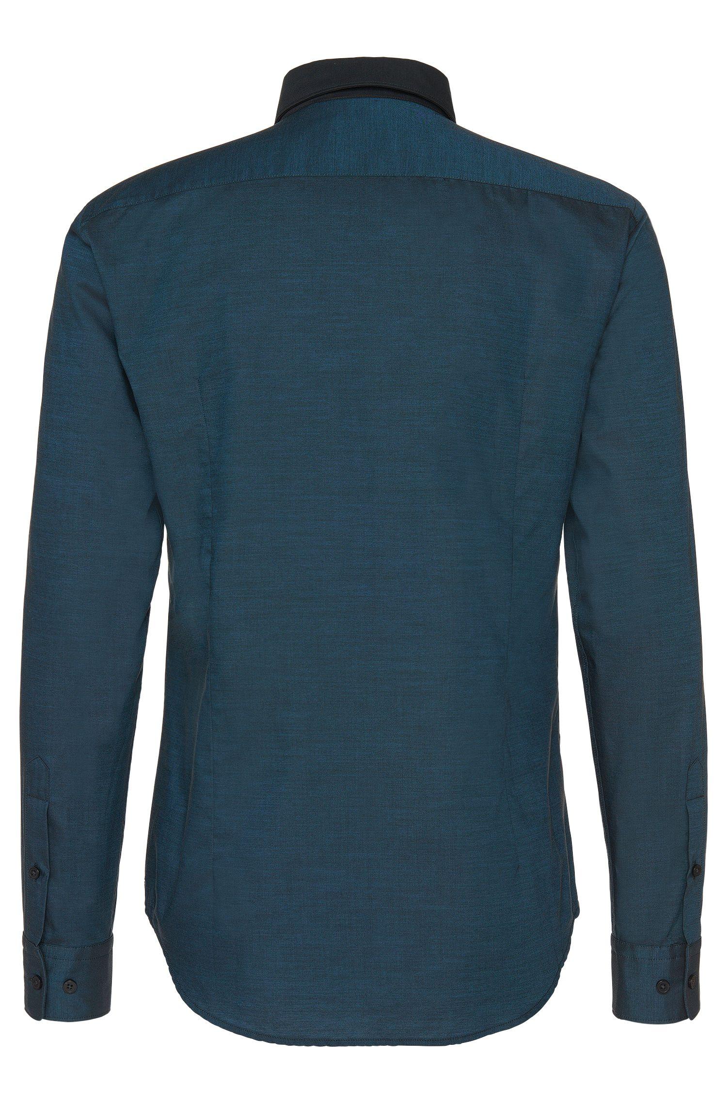 Chemise Slim Fit en coton à larges rayures contrastantes: «Ronni_H»