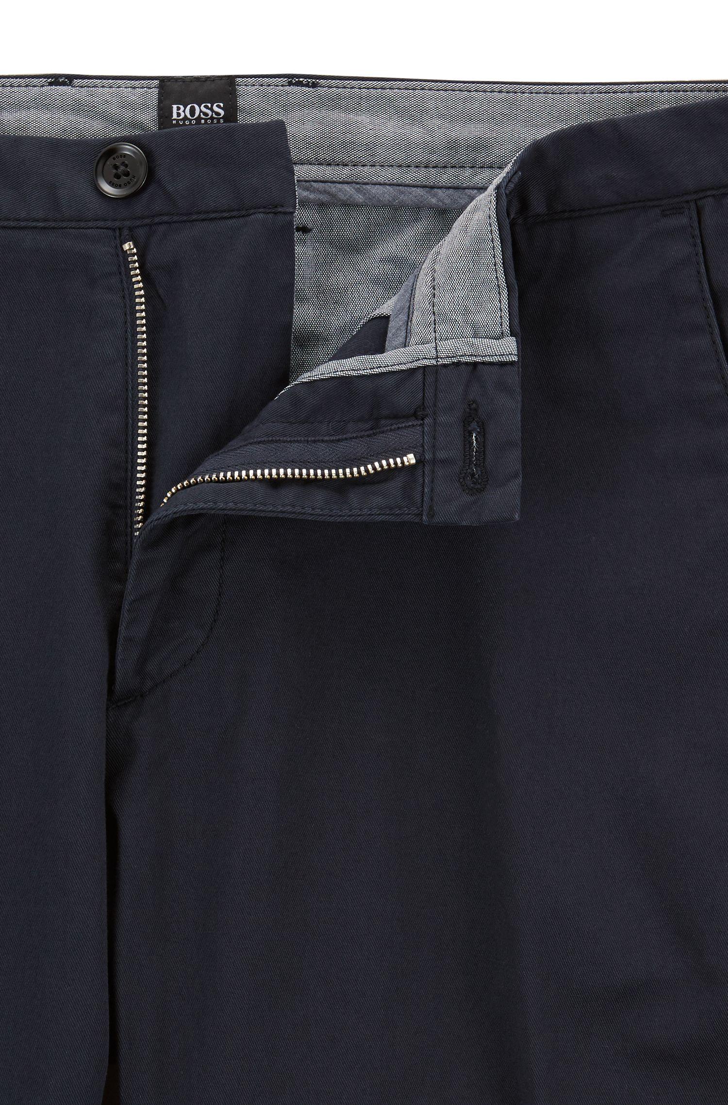 Slim-Fit Hose mit geradem Beinverlauf: 'Rice3-D'