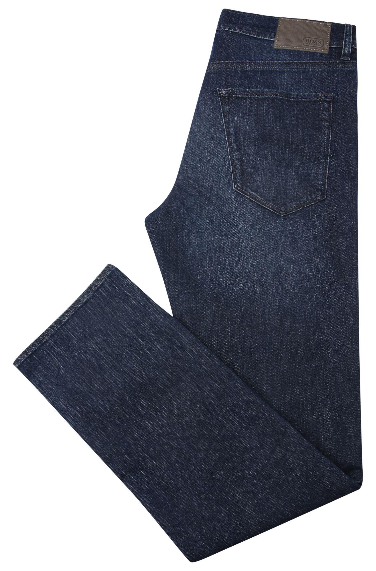 Regular-Fit Jeans aus elastischer Baumwolle: ´C-MAINE1`