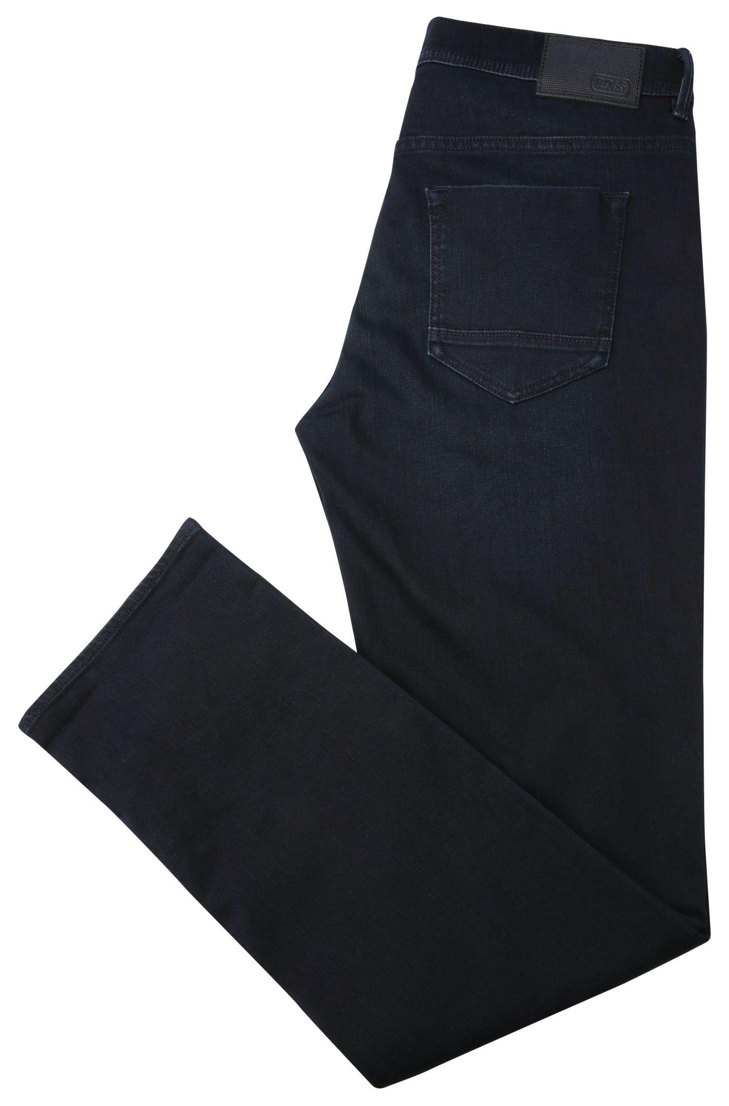 Jeans Regular Fit légèrement délavé en coton extensible: «Deam30»