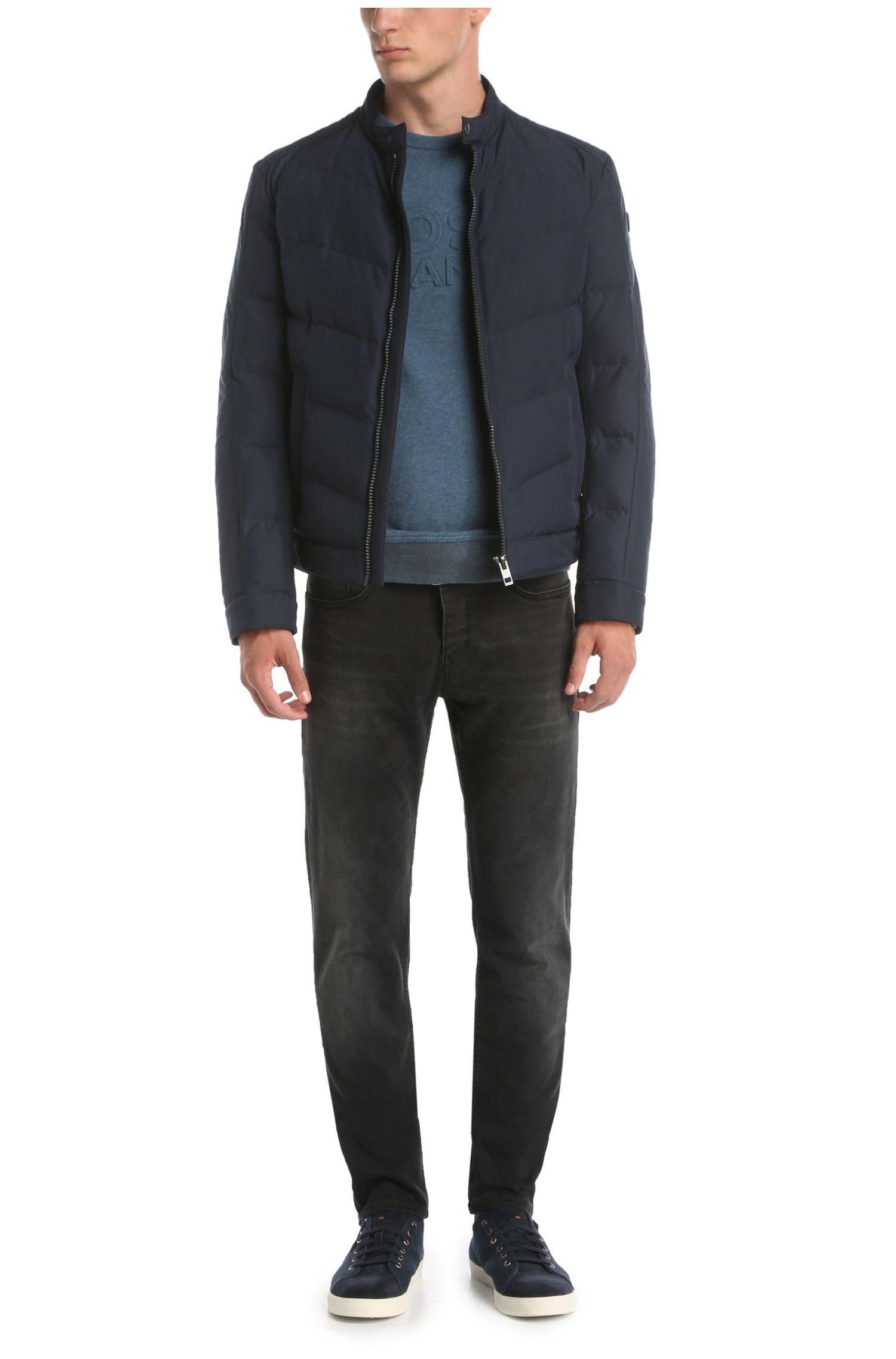 Tapered-Fit Jeans aus elastischer Baumwolle: ´Orange90`