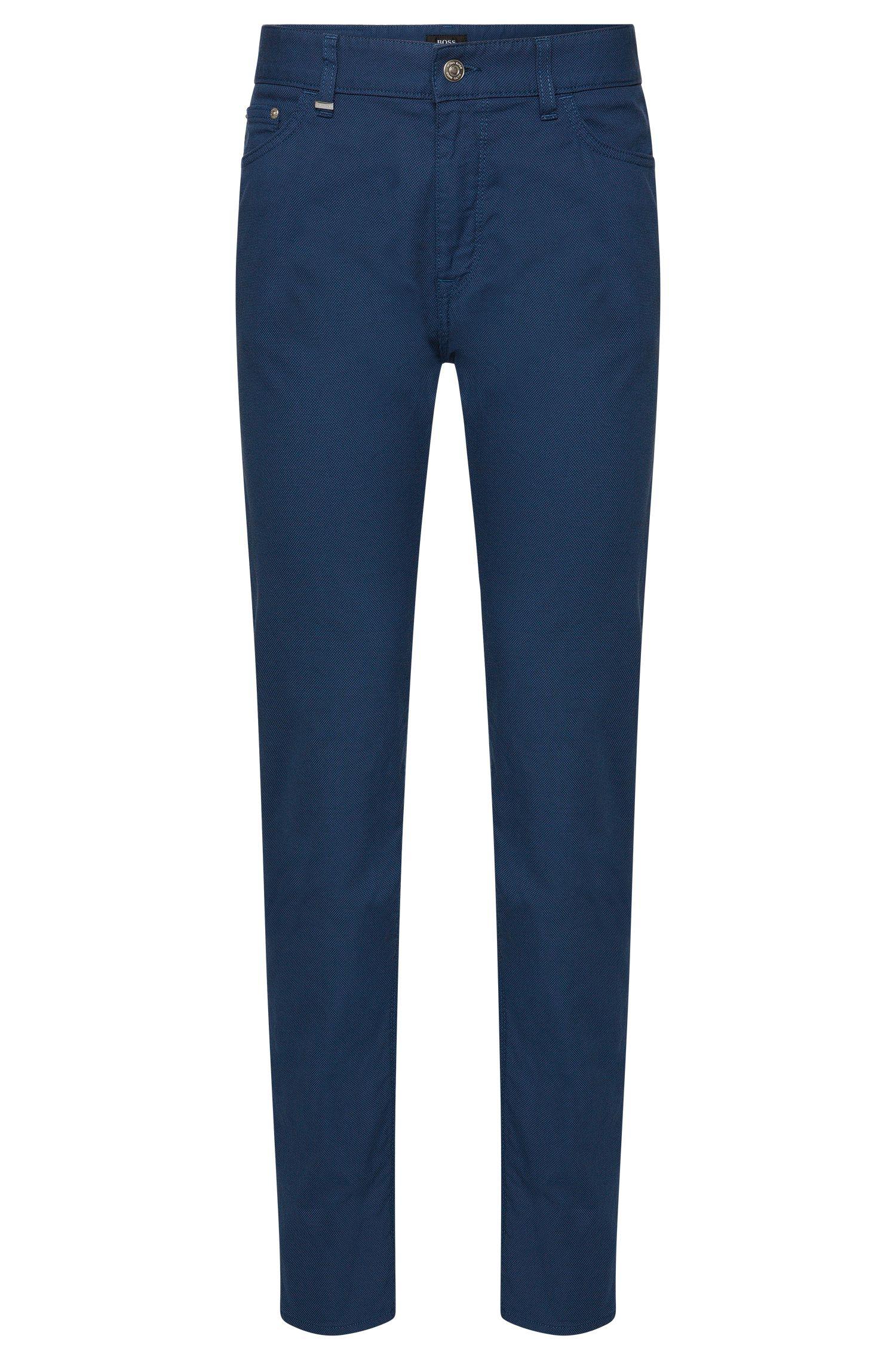 Pantalon Regular Fit en coton extensible: «Maine3-20»