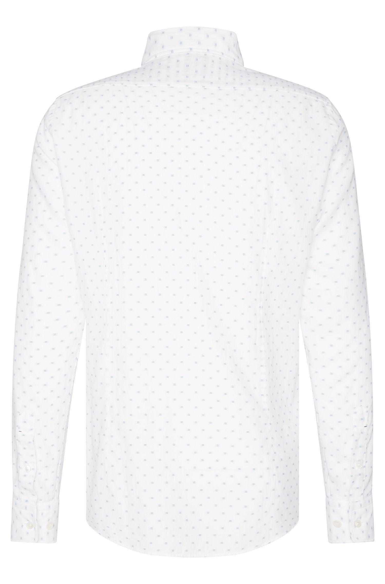 Besticktes Regular-Fit Tailored Hemd aus Baumwolle: 'T-Landon_F'