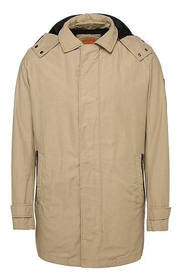 Regular-Fit Jacke aus Baumwoll-Mix mit integrierter Weste: ´Otorio-W`, Beige