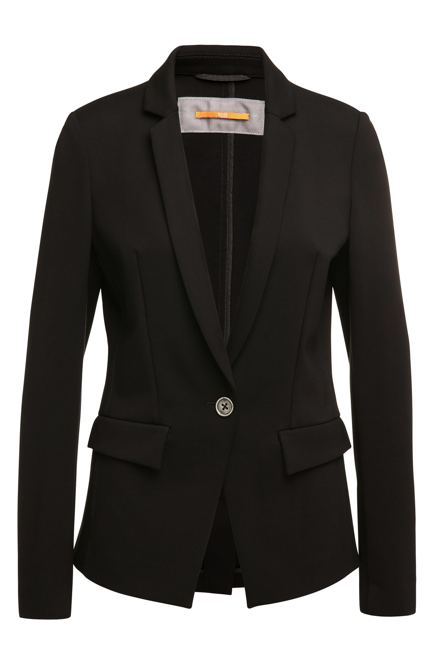 Blazer Regular Fit en viscose mélangée extensible : « Ochini2 »