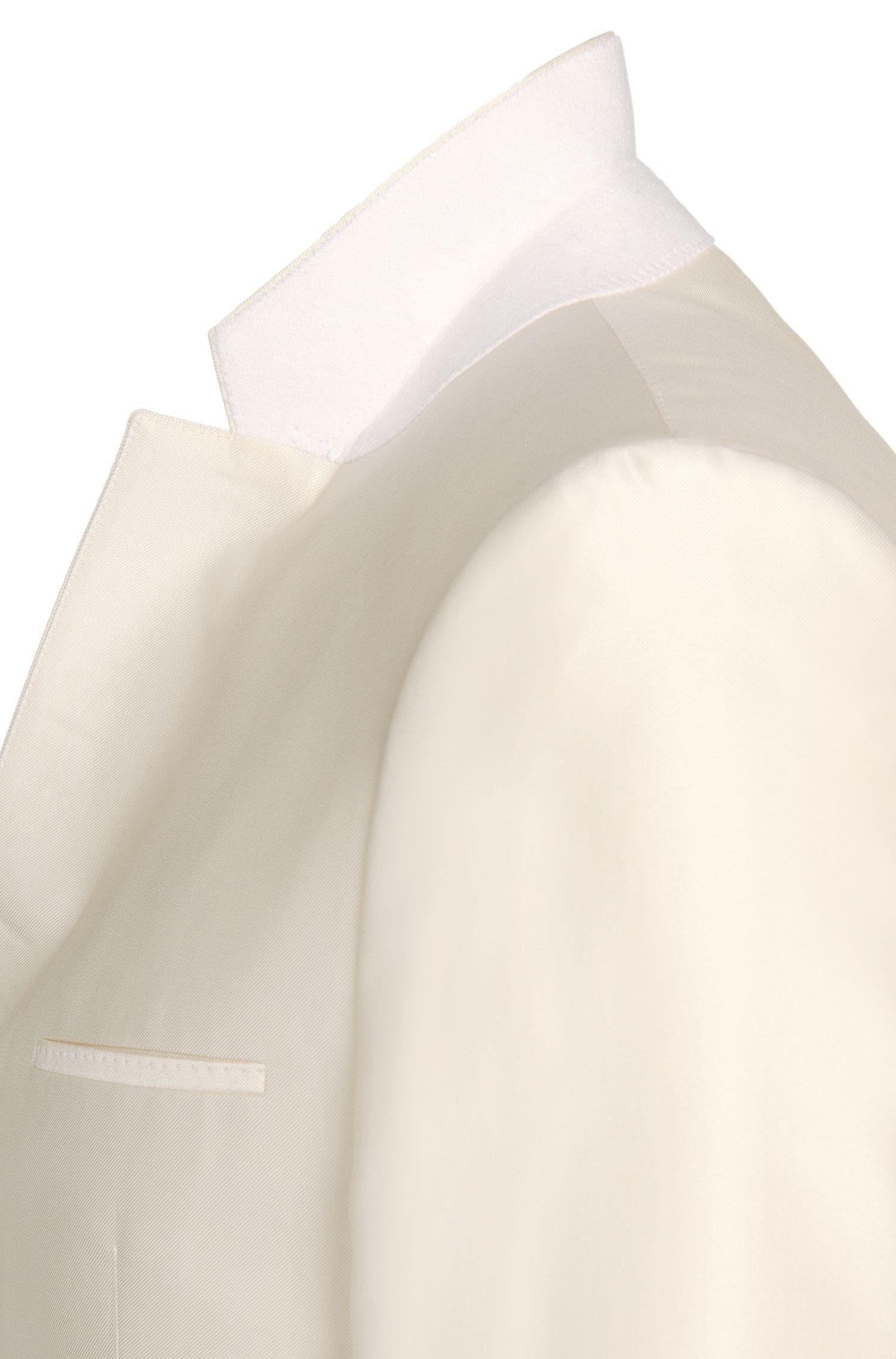 Costume Slim Fit uni en laine viergemélangée: «Arti/Heilon»