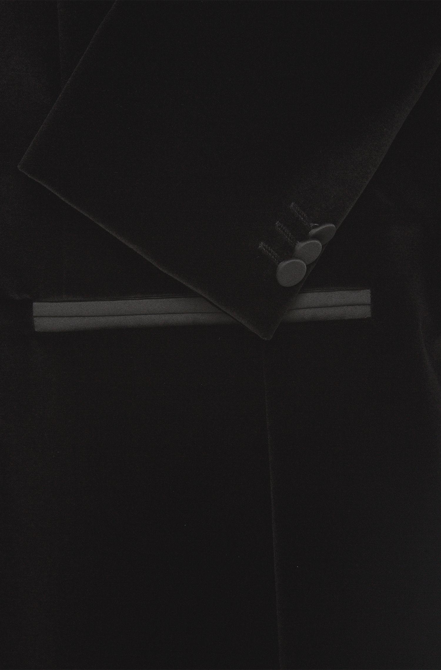 Veste de smoking Slim Fit en velours de coton de qualité: «Arian»