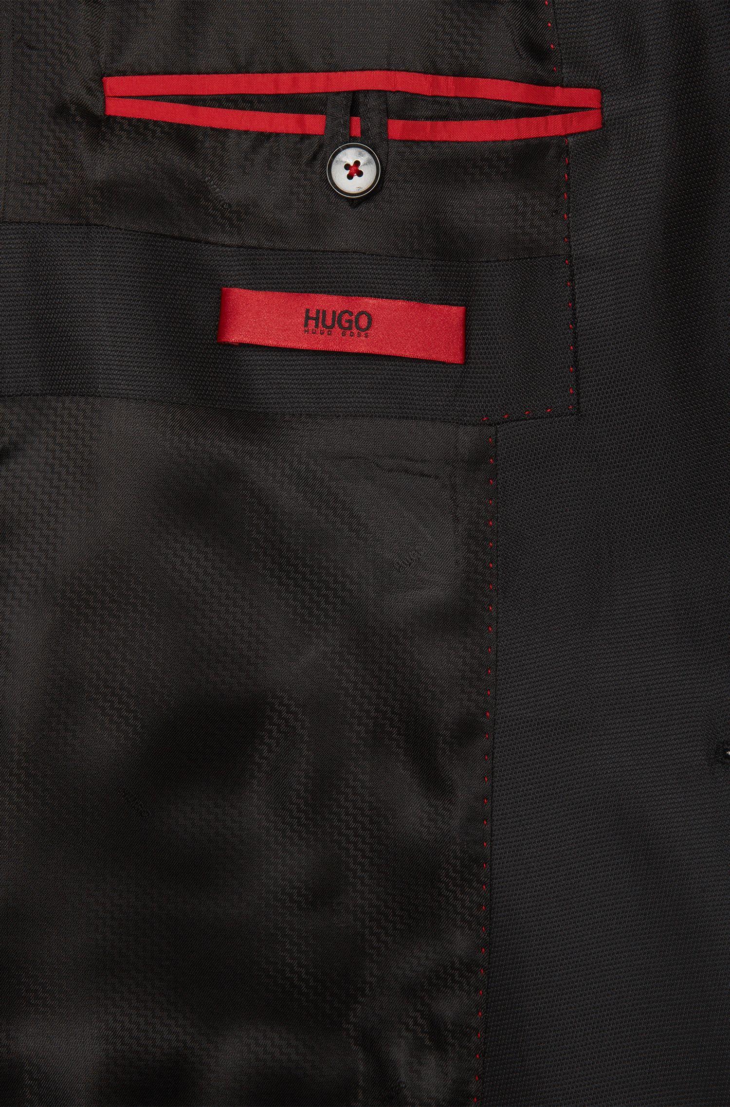 Slim-Fit Smoking-Jacke aus Baumwolle in Samt-Qualität: 'Arian'