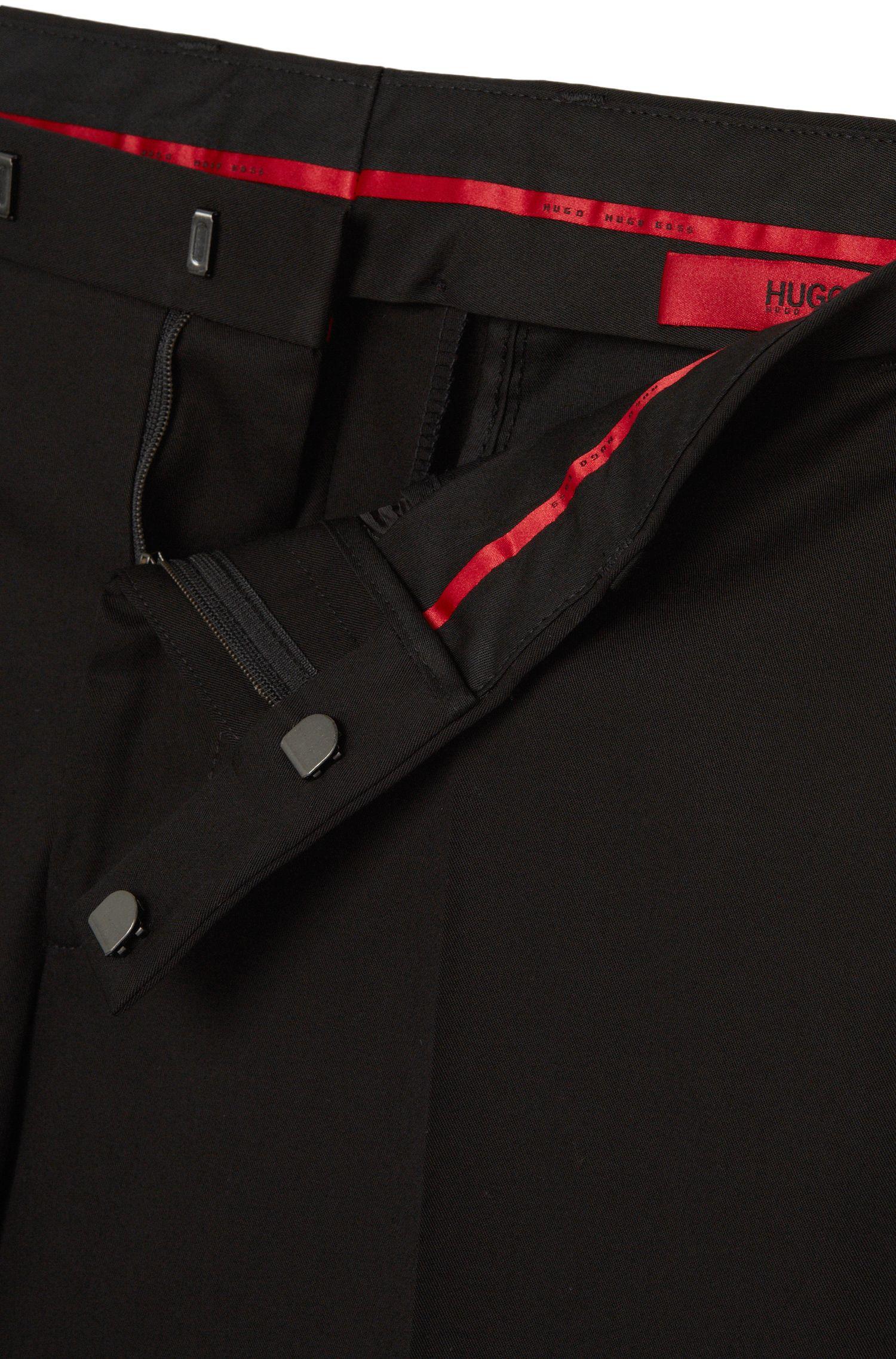 Pantalon Regular Fit en coton stretch: «C-Shark1»