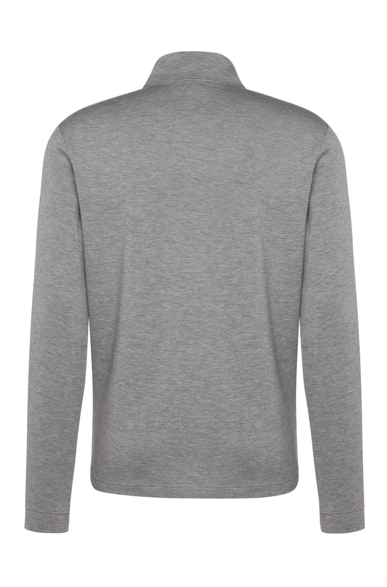 Regular-Fit Sweatshirt aus Baumwoll-Mix: ´C-Piceno`