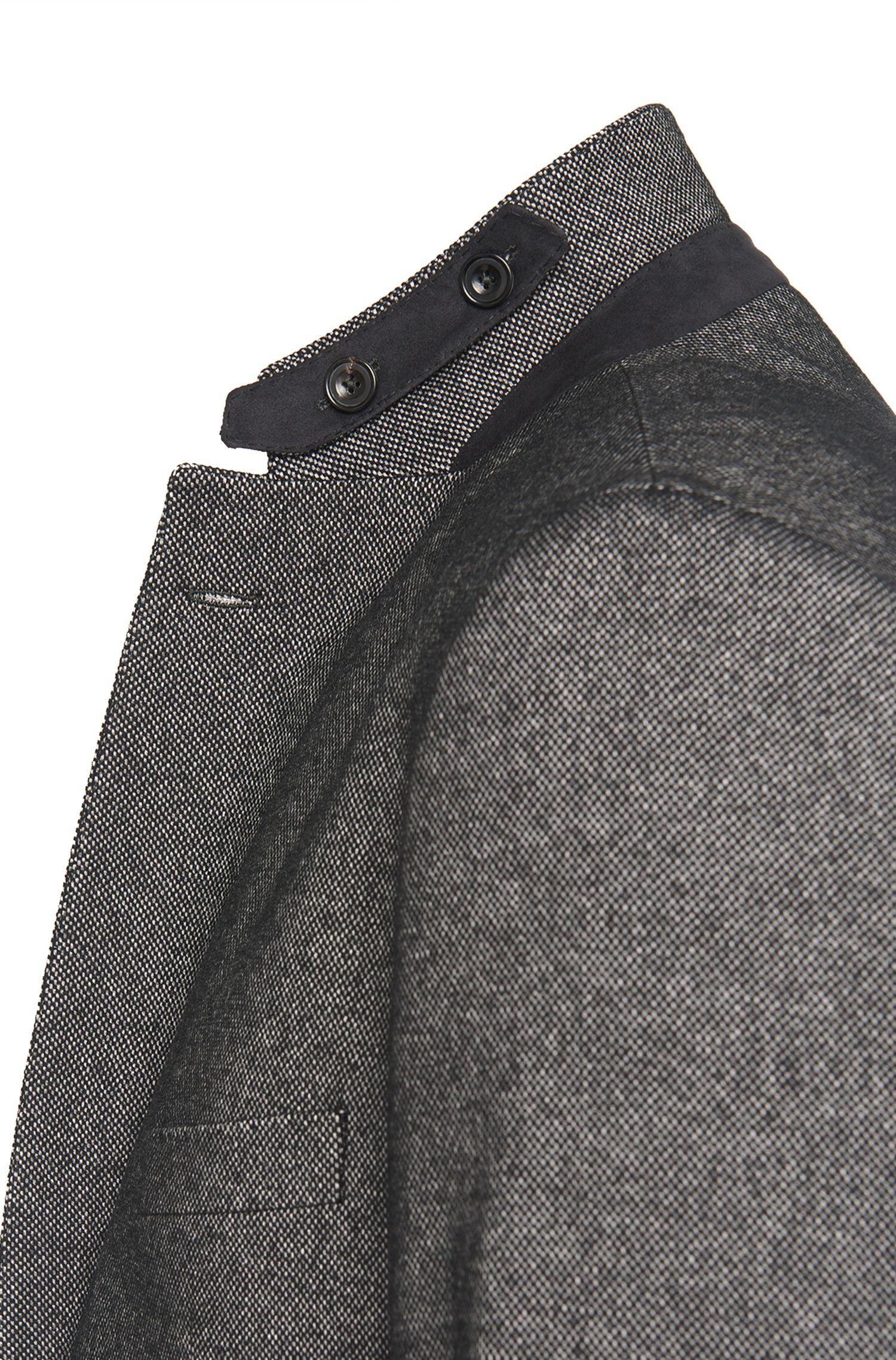 Veste de costume Regular Fit en laine vierge mélangée, avec coudières: «Jayson1»