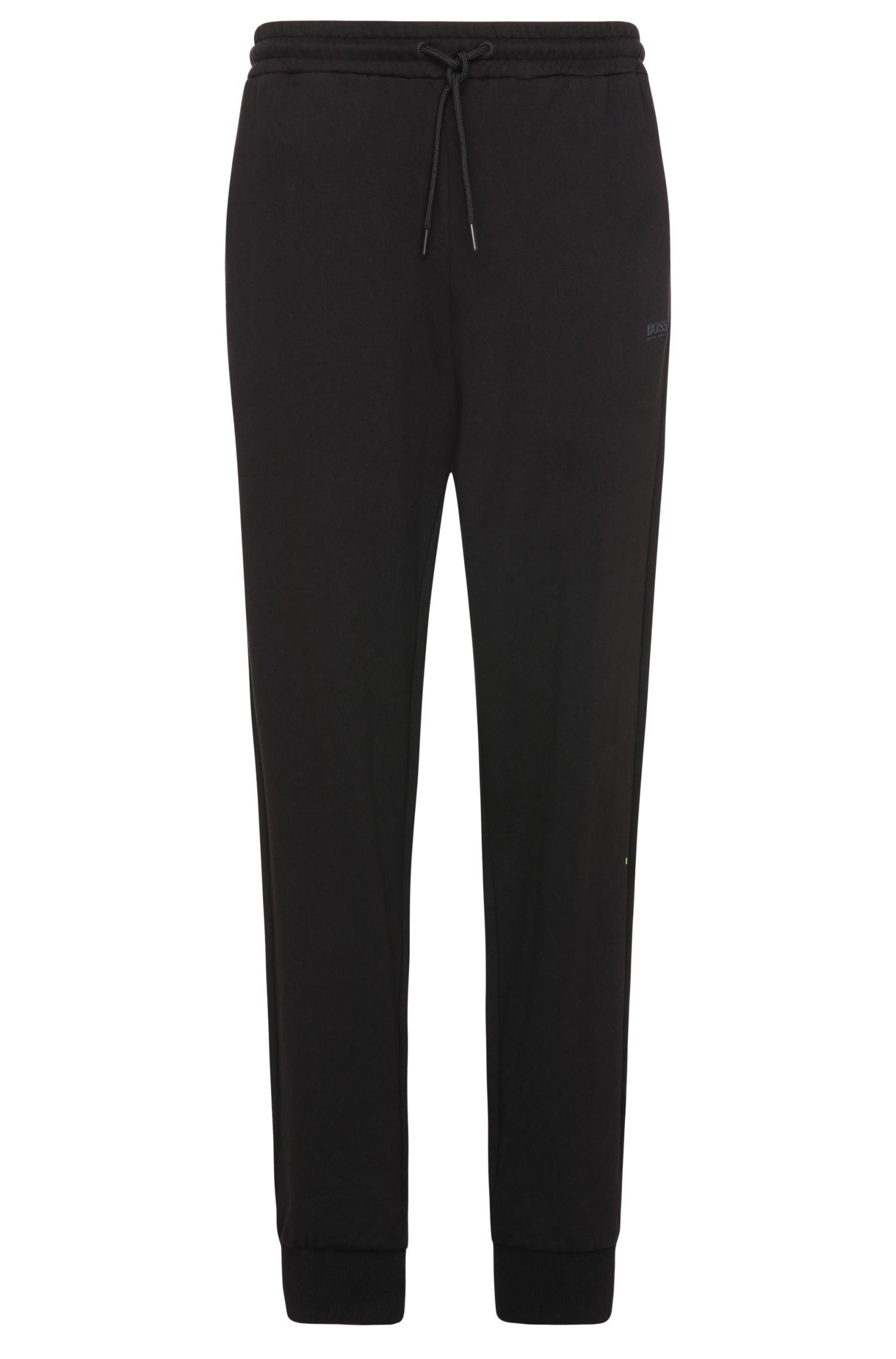 Relaxed-fit tracksuit bottoms in cotton: 'Hivon'