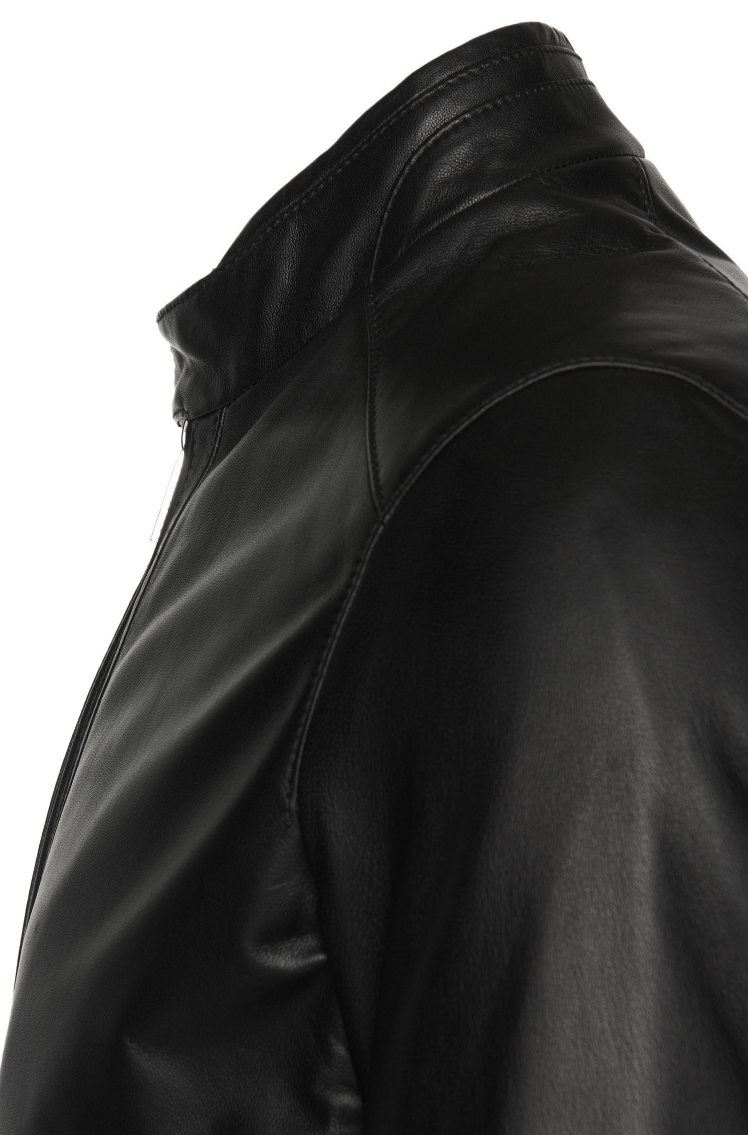 Lederjacke mit kurzem Stehkragen: 'Nortilo'