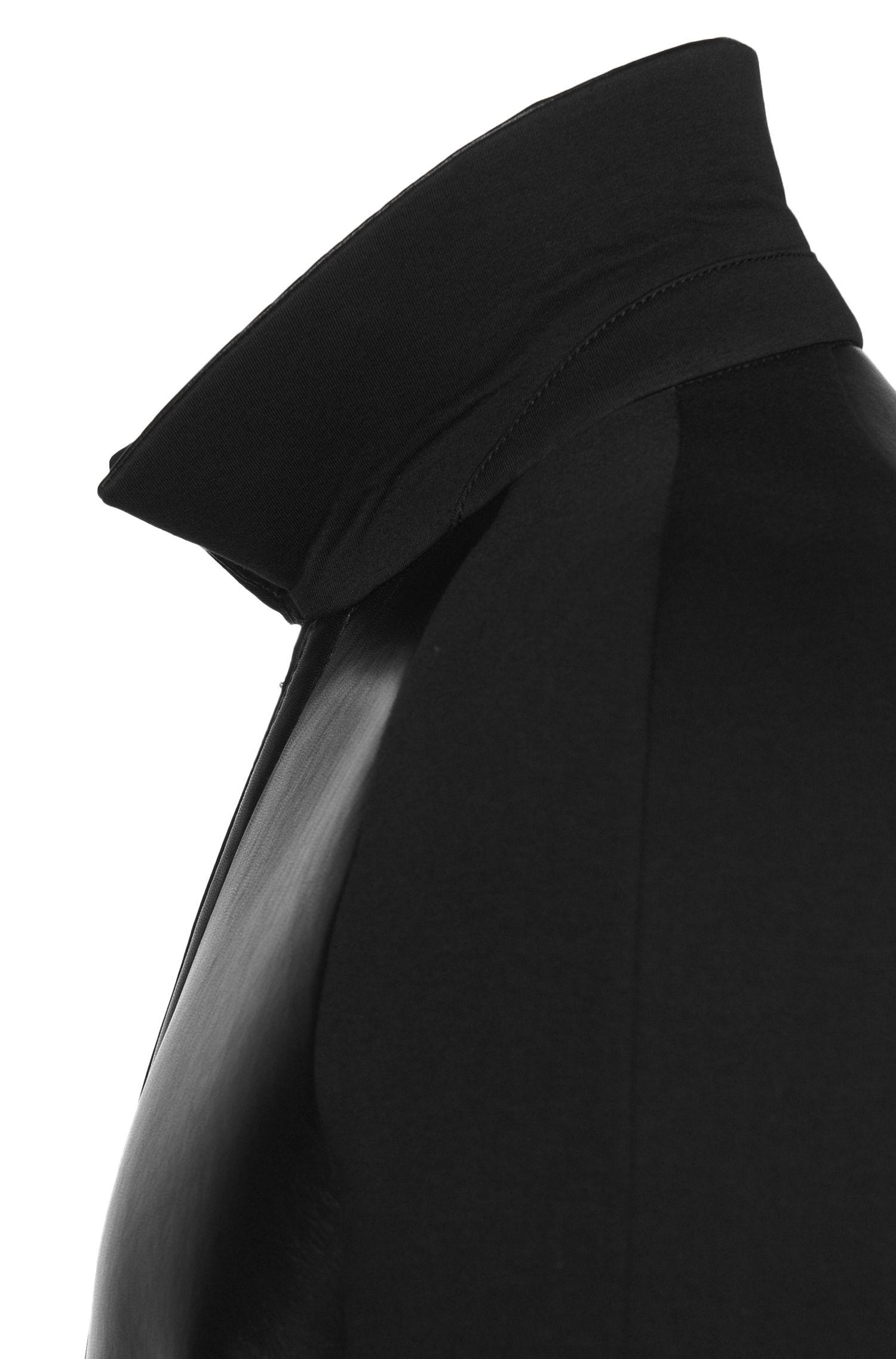 Tailored Lederjacke mit Raglanärmeln: 'T-Corvis'