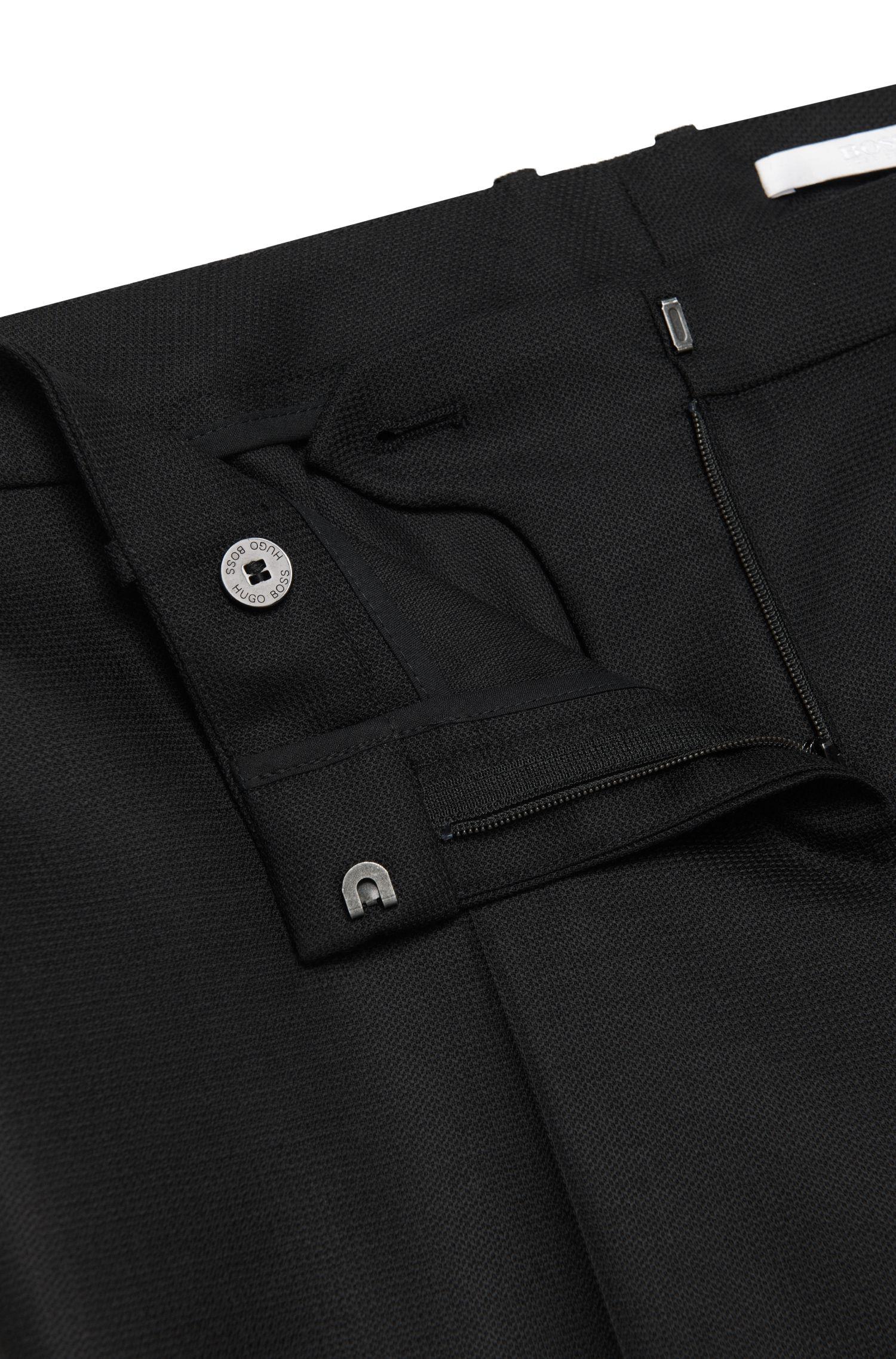 Slim-fit broek van zuivere scheerwol: 'Tiluna1'
