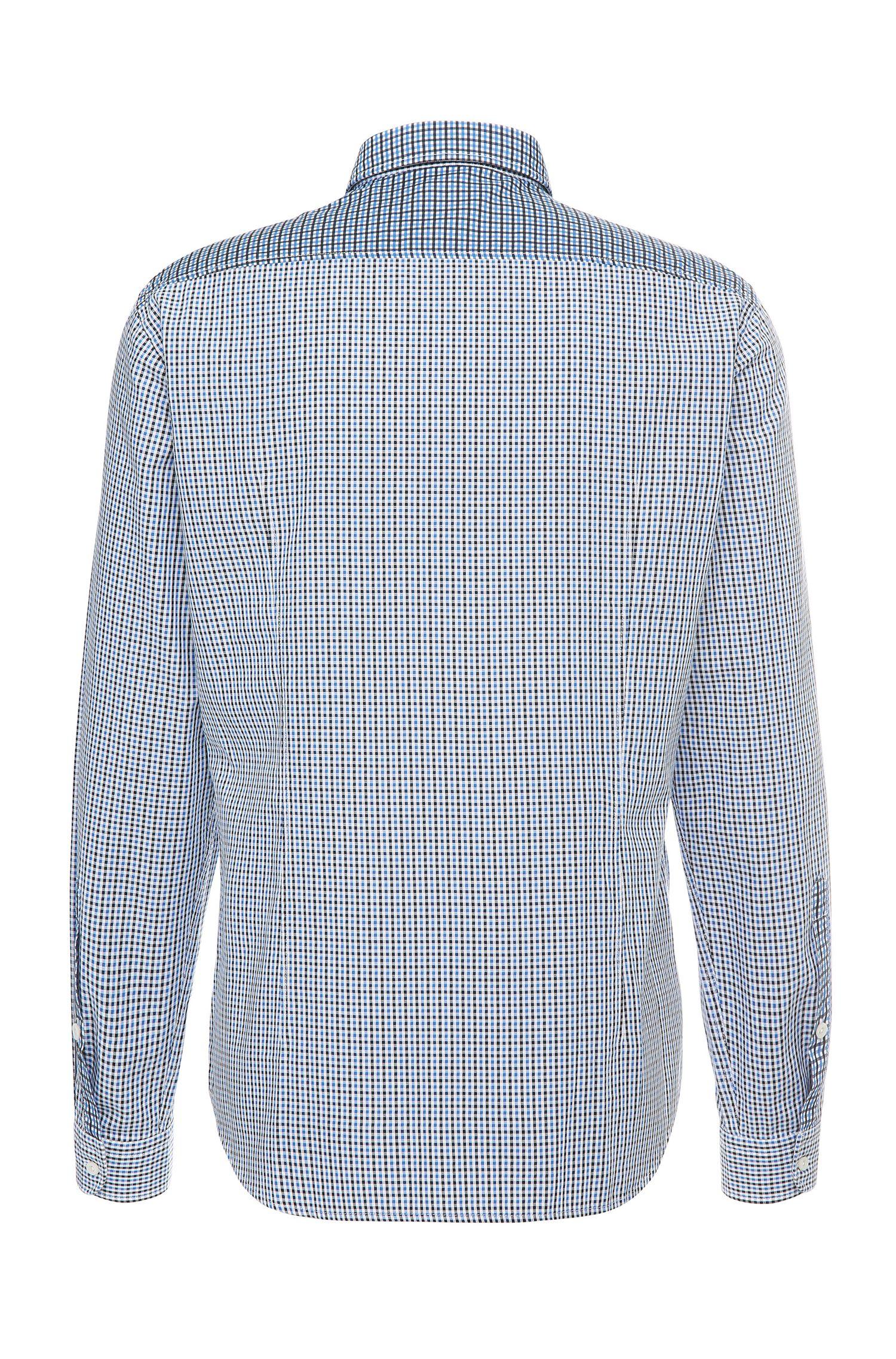 Kariertes Regular-Fit Hemd aus Baumwolle: ´C-Briar`